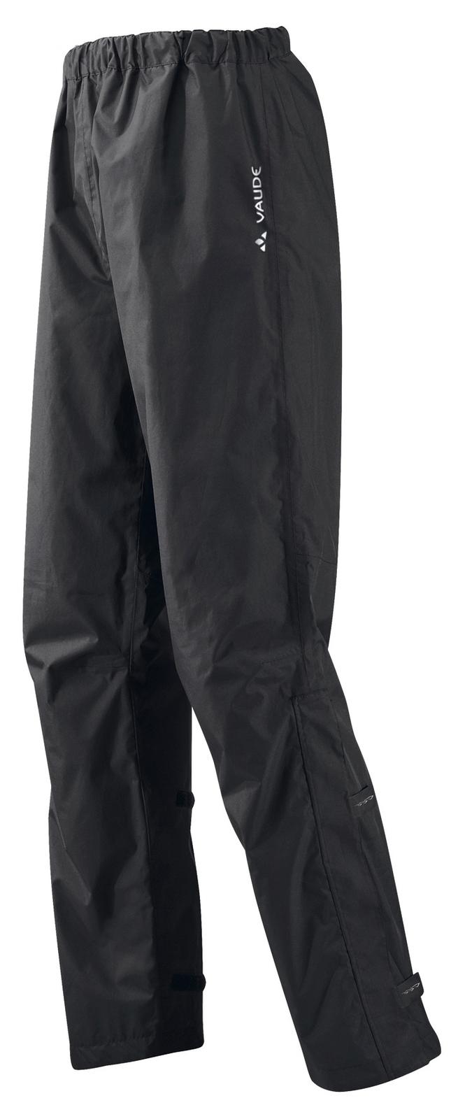 VAUDE Men´s Fluid Pants II S/S+L/S black Größe XXL-Long - schneider-sports