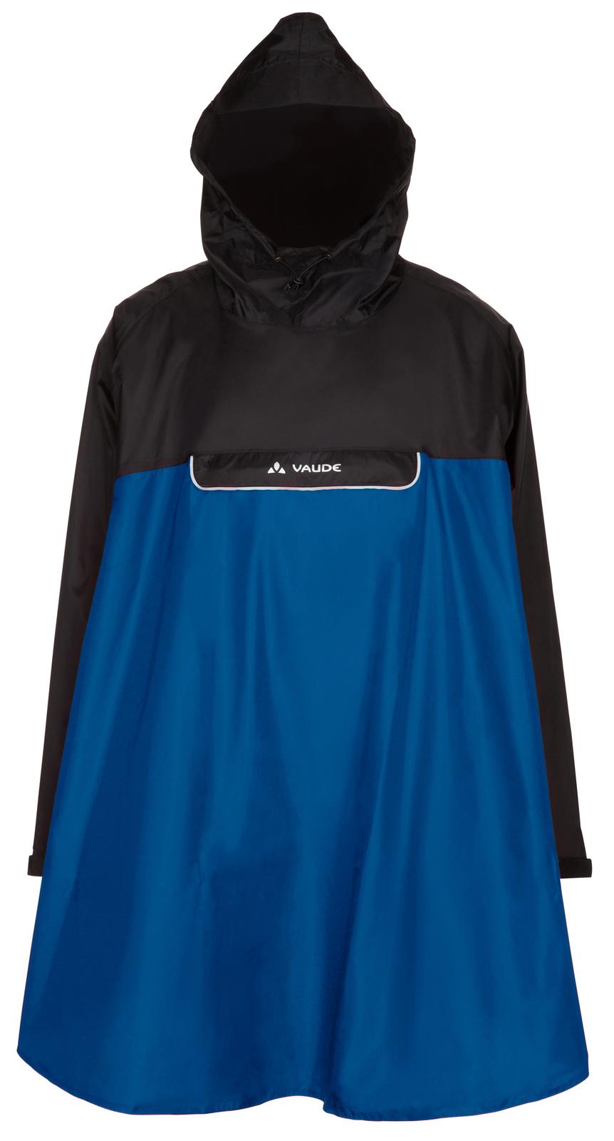VAUDE Valero Poncho blue Größe M - schneider-sports