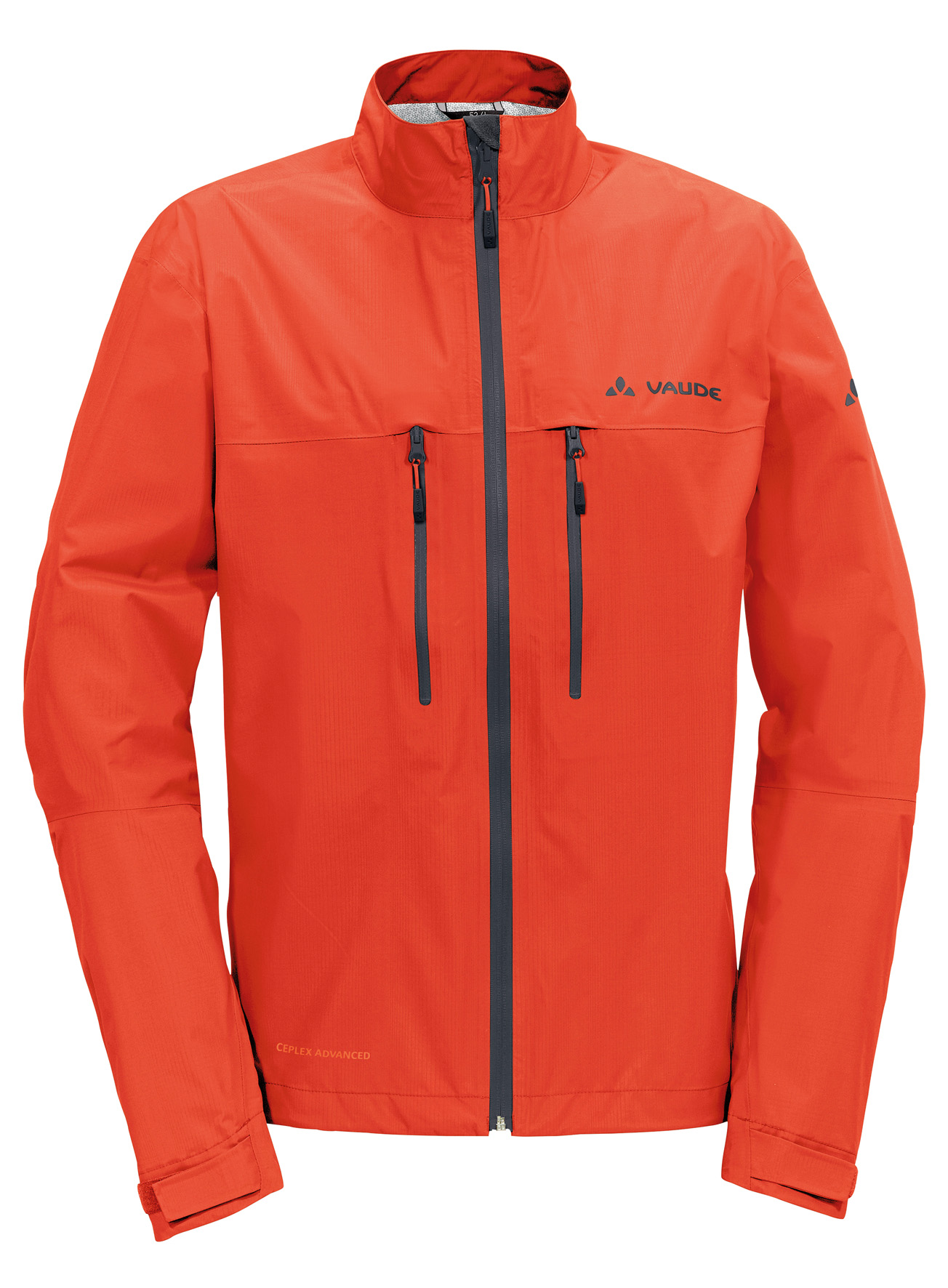 Men´s Tiak Jacket glowing red Größe S - schneider-sports