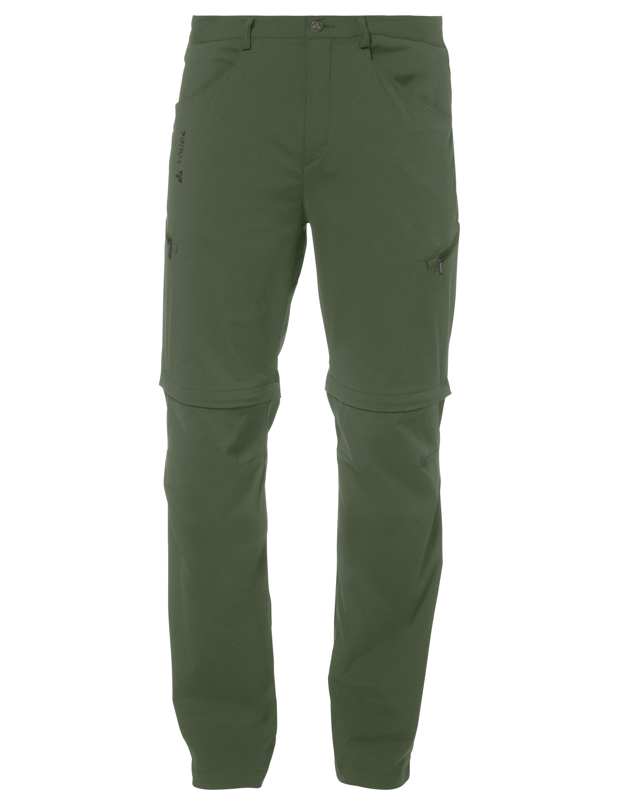 VAUDE Men´s Yaki ZO Pants cedar wood Größe S - schneider-sports