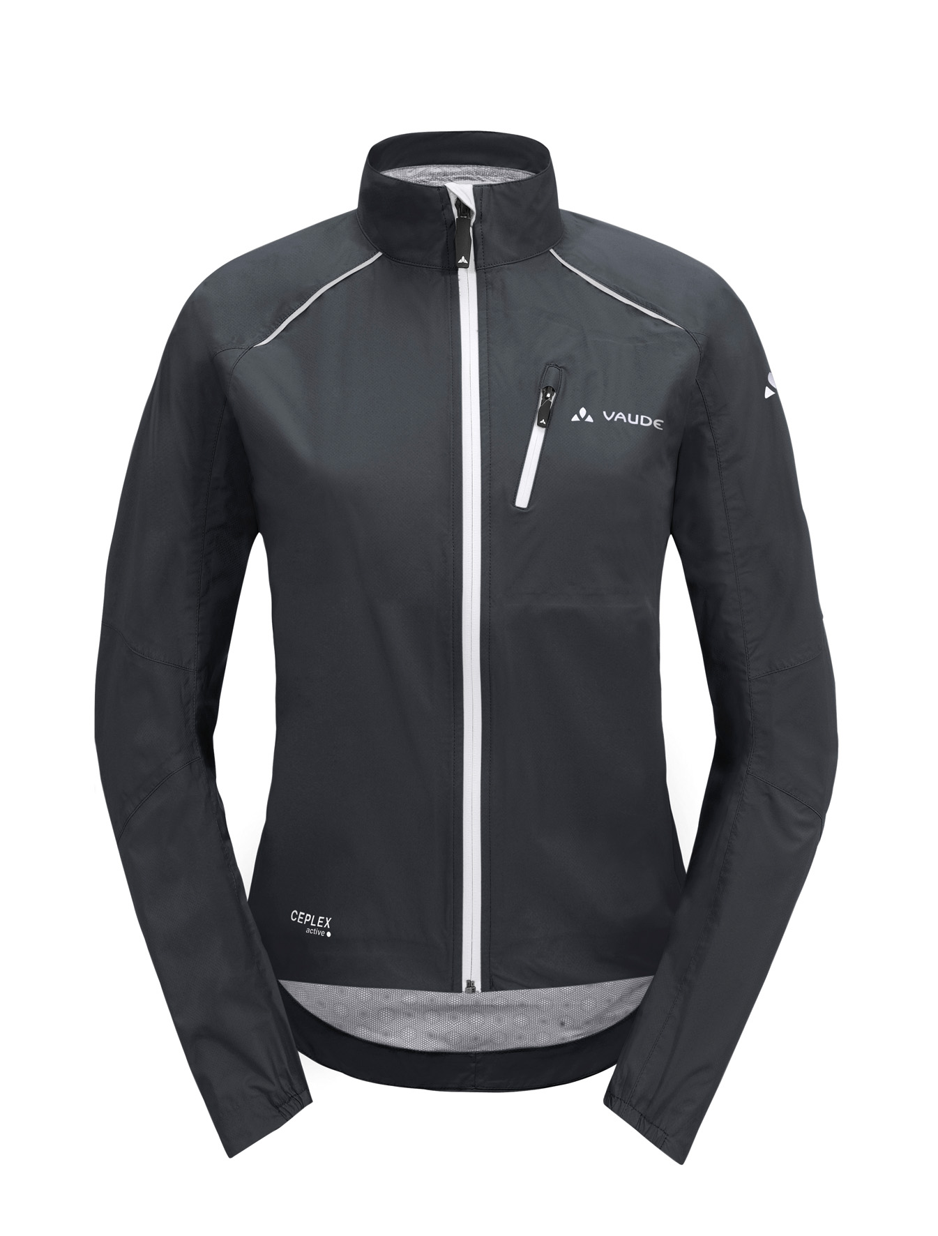 Women´s Spray Jacket III black/white Größe 40 - Women´s Spray Jacket III black/white Größe 40