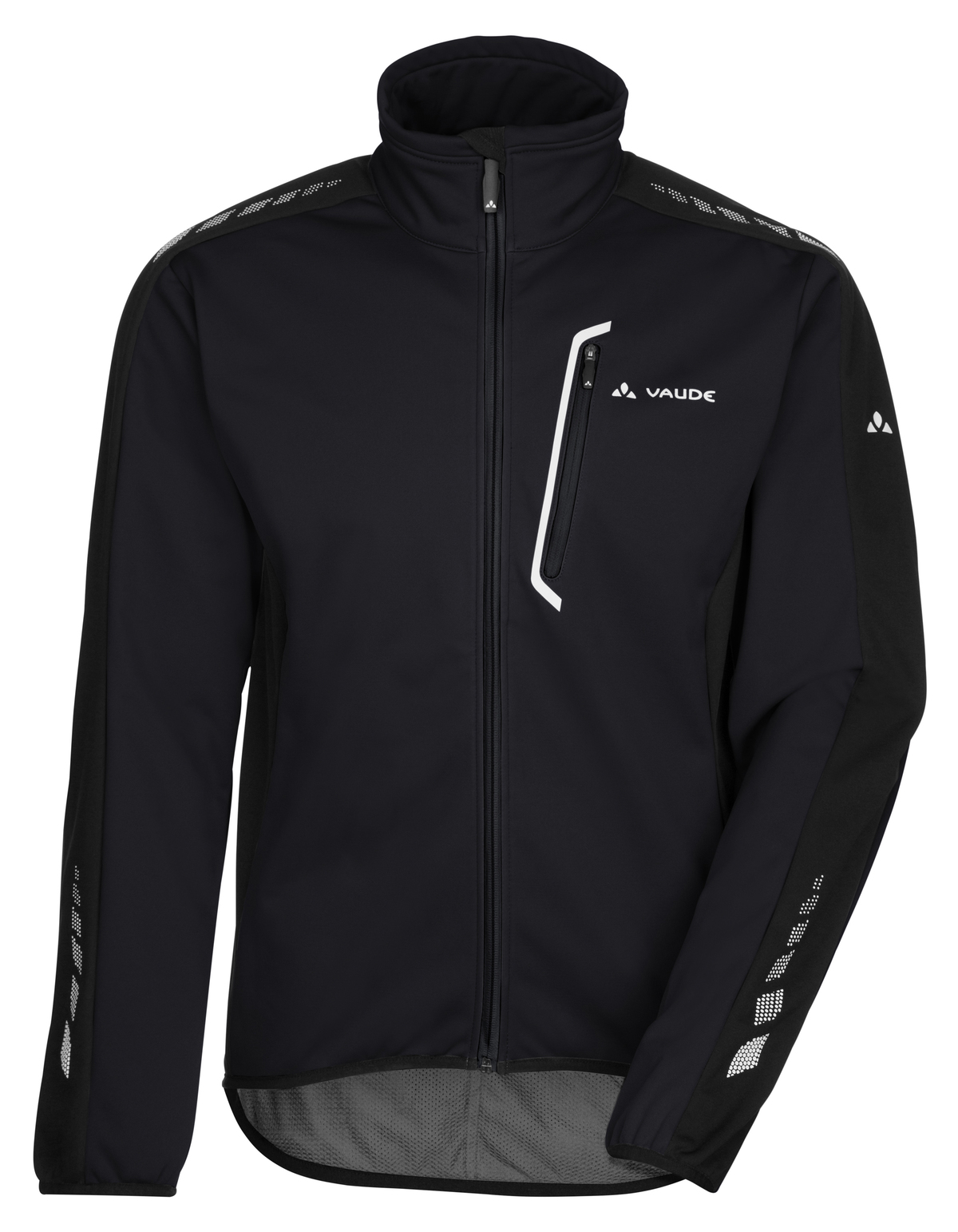 VAUDE Men´s Posta Softshell Jacket IV black Größe L - schneider-sports