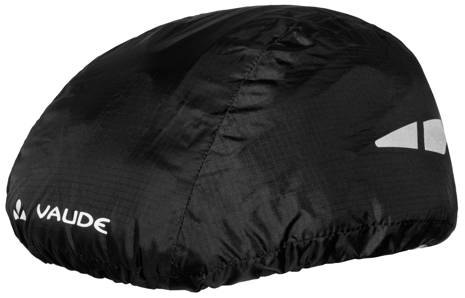 VAUDE Helmet Raincover black  - Total Normal Bikes - Onlineshop und E-Bike Fahrradgeschäft in St.Ingbert im Saarland
