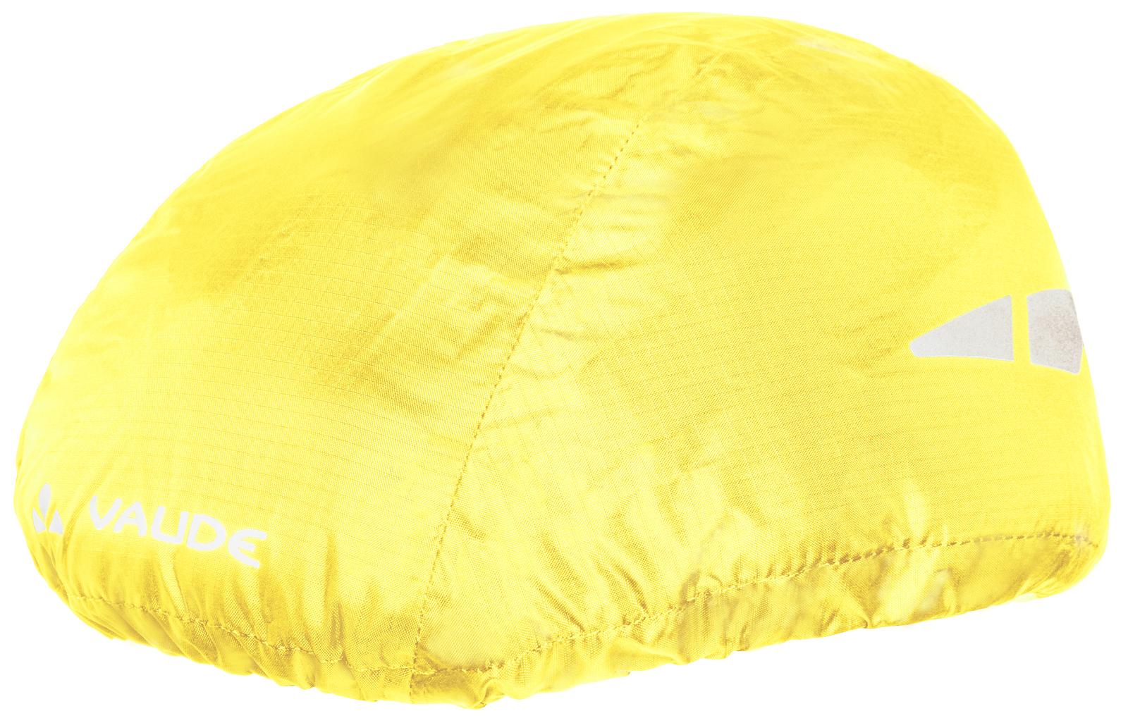 VAUDE Helmet Raincover neon yellow  - Total Normal Bikes - Onlineshop und E-Bike Fahrradgeschäft in St.Ingbert im Saarland