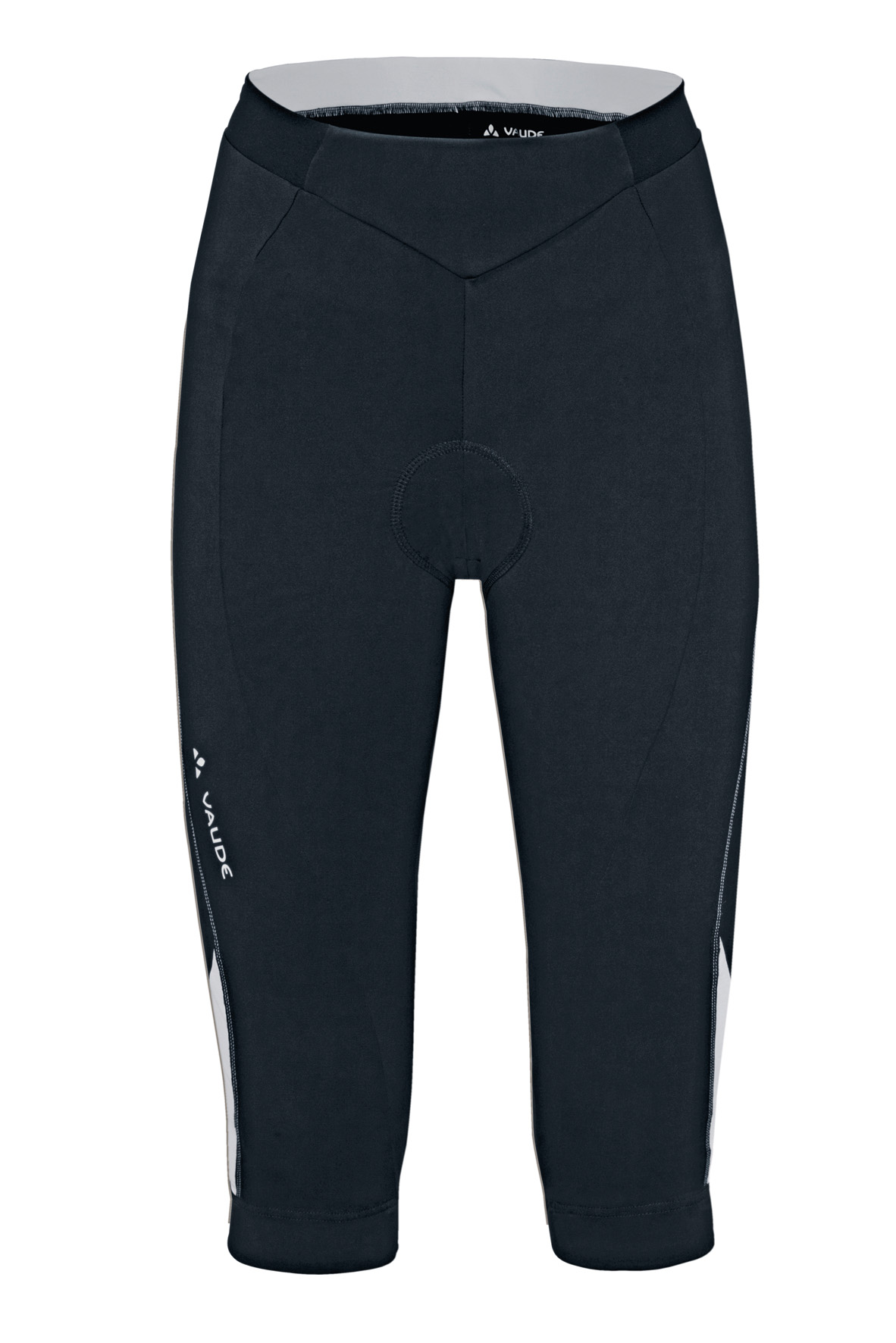 Women´s Advanced 3/4 Pants black/white Größe 40 - schneider-sports