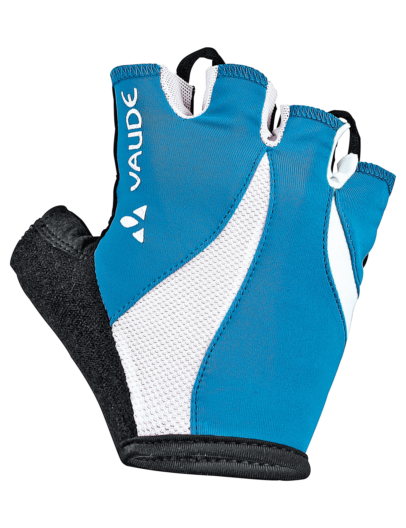 VAUDE Women´s Advanced Gloves spring blue Größe 5 - schneider-sports