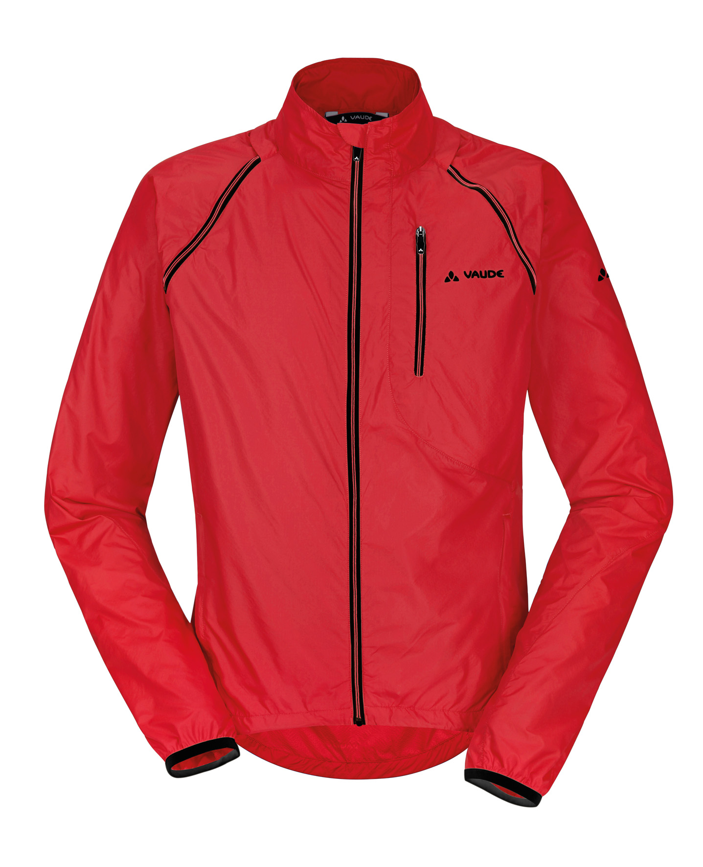 VAUDE Men´s Windoo Jacket red Größe S - schneider-sports