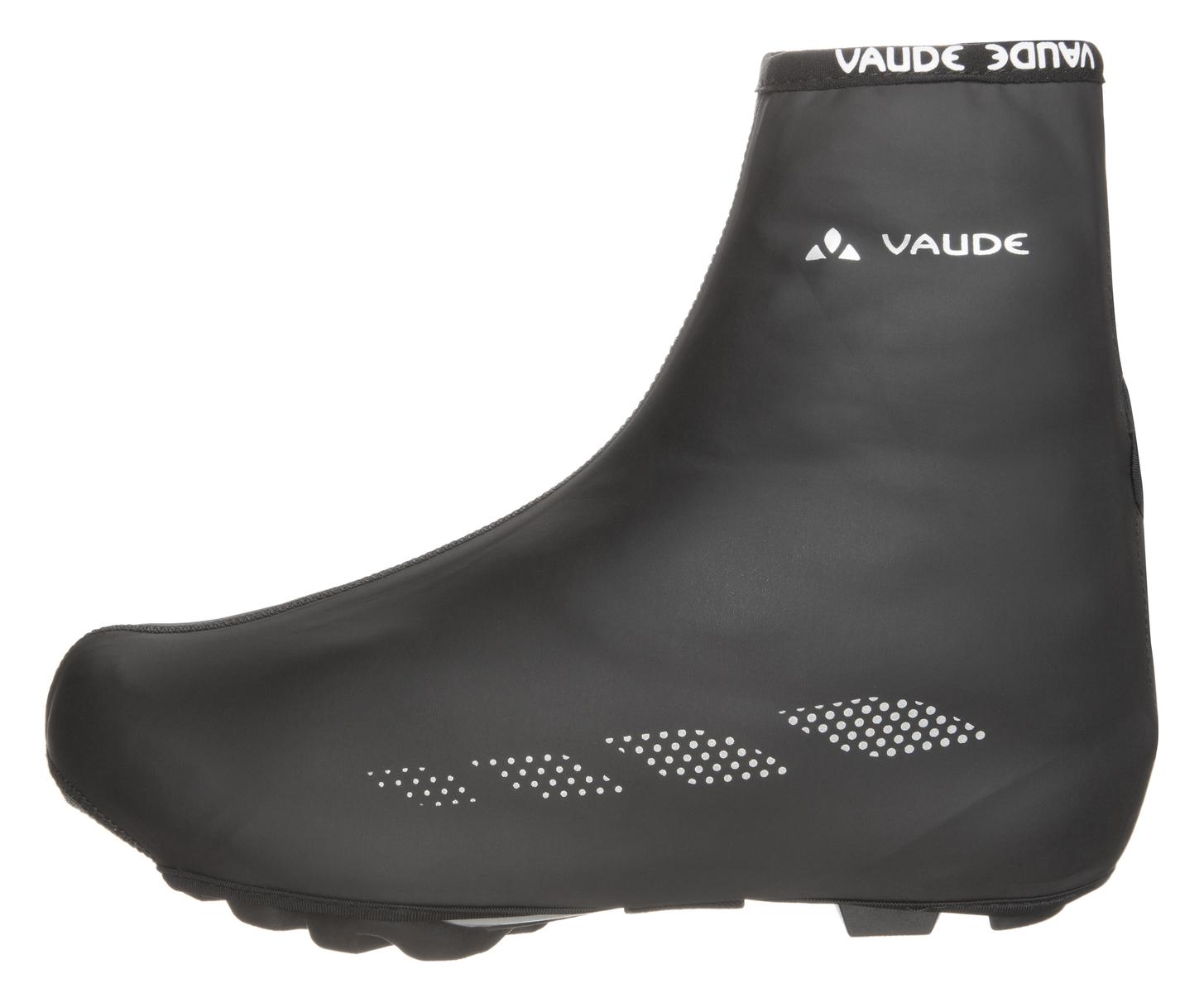 VAUDE Shoecover Wet Light II black Größe 36-39 - Total Normal Bikes - Onlineshop und E-Bike Fahrradgeschäft in St.Ingbert im Saarland