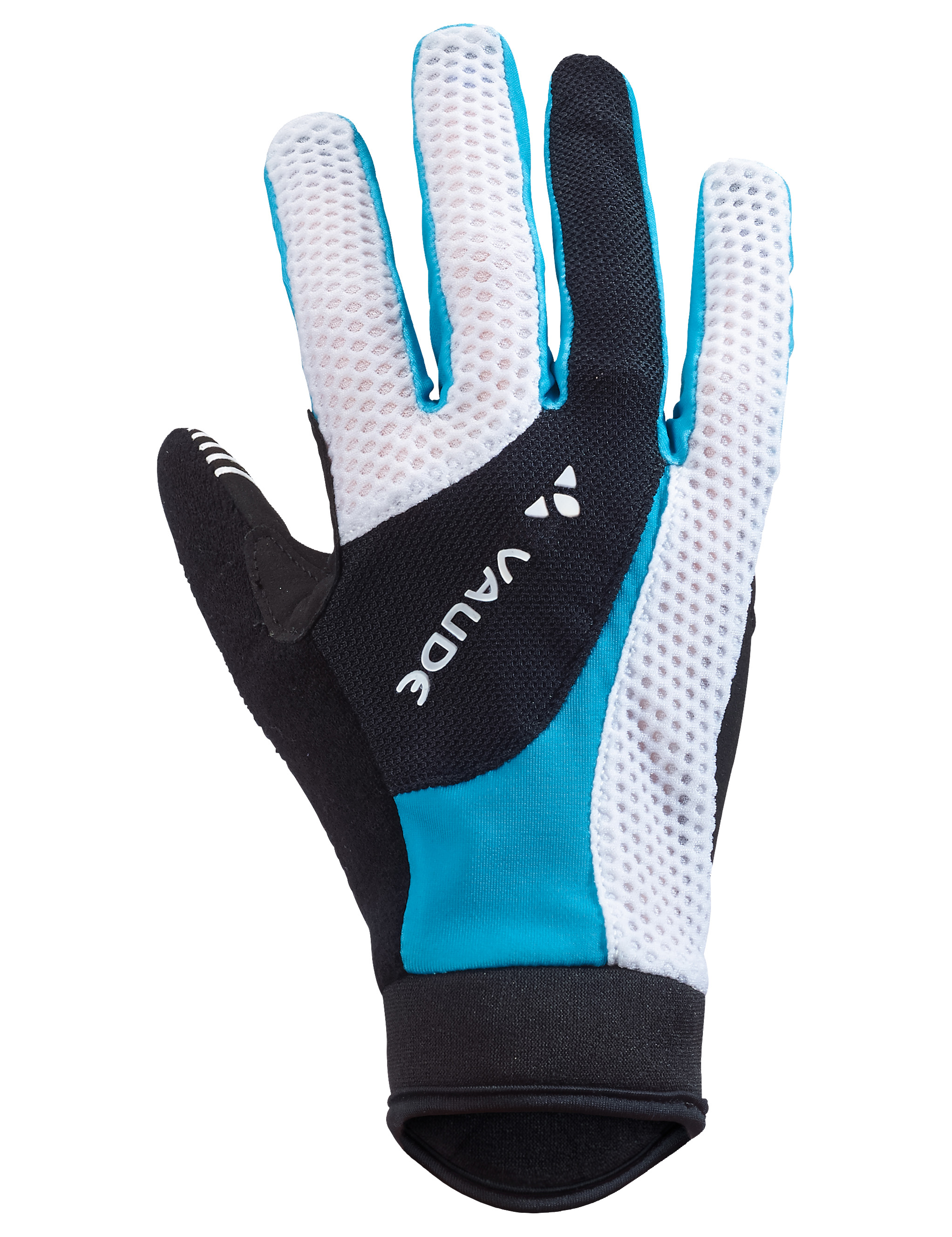 VAUDE Women´s Dyce Gloves spring blue Größe 7 - schneider-sports