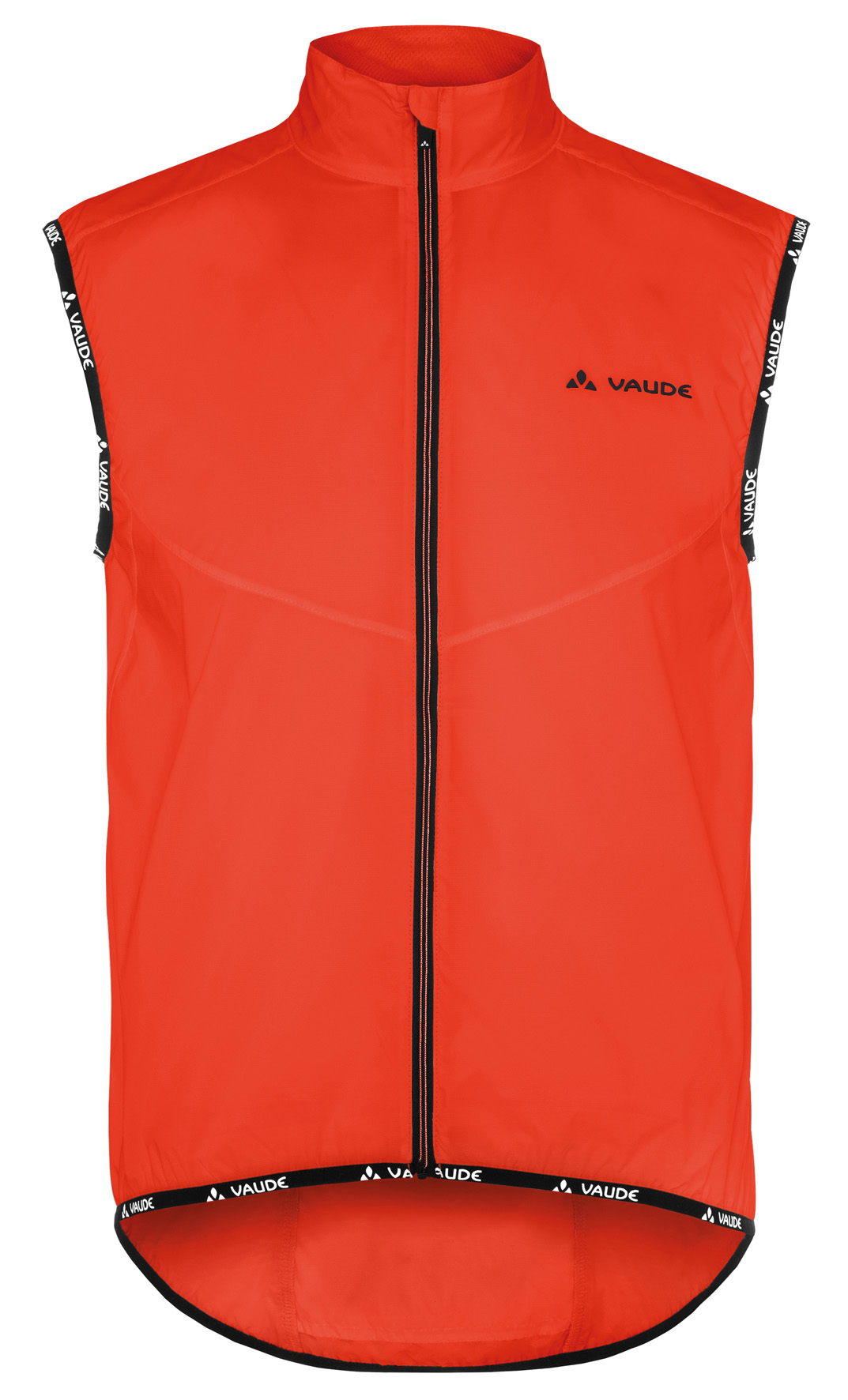 VAUDE Men´s Air Vest II glowing red Größe L - schneider-sports