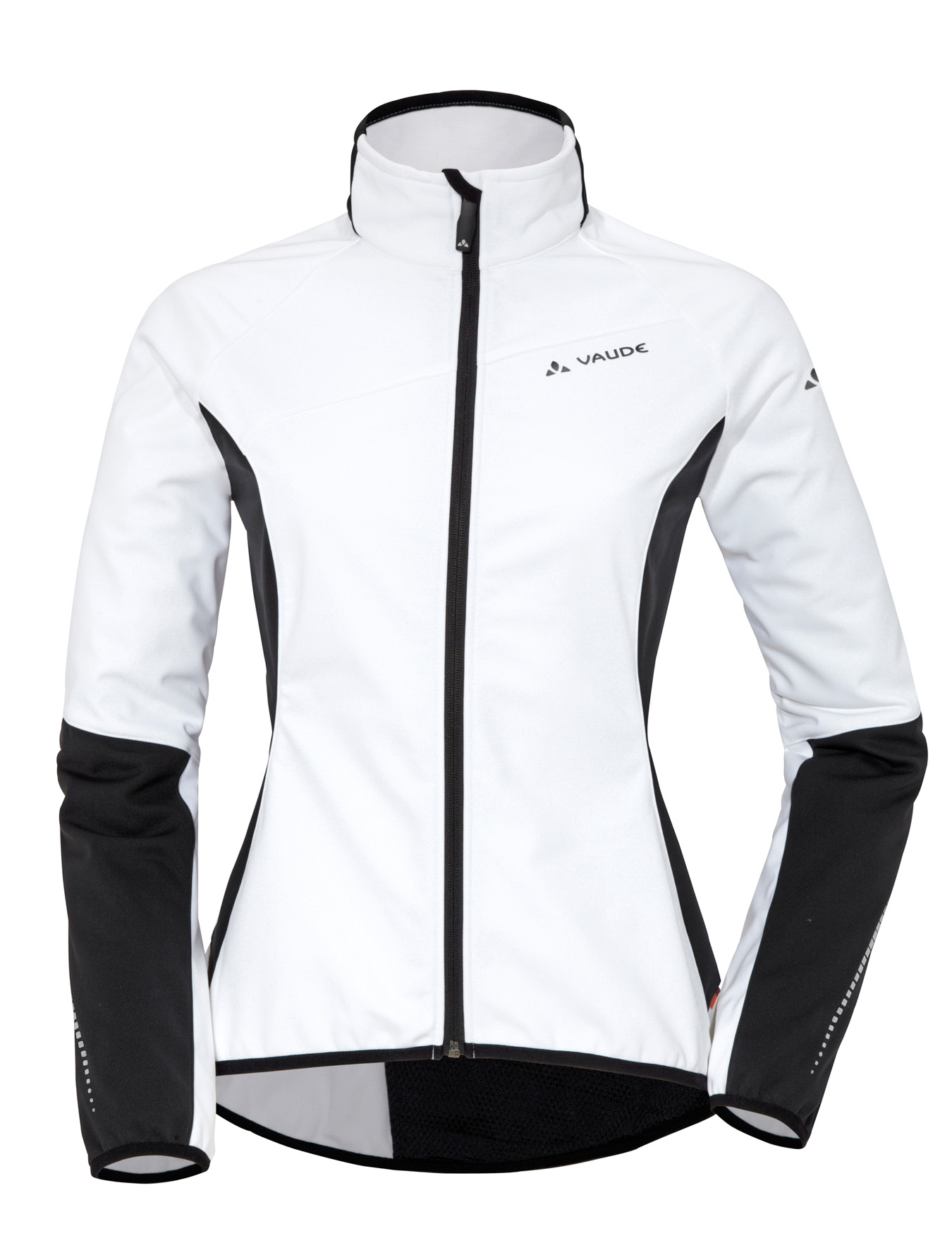 VAUDE Women´s Resca Softshell Jacket white Größe 40 - schneider-sports
