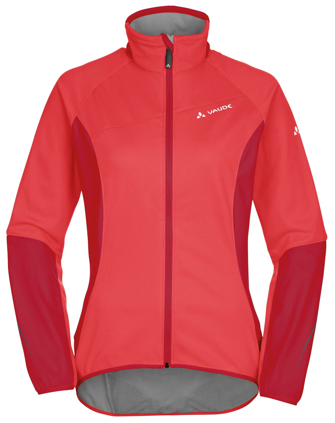 VAUDE Women´s Resca Softshell Jacket flame Größe 44 - schneider-sports
