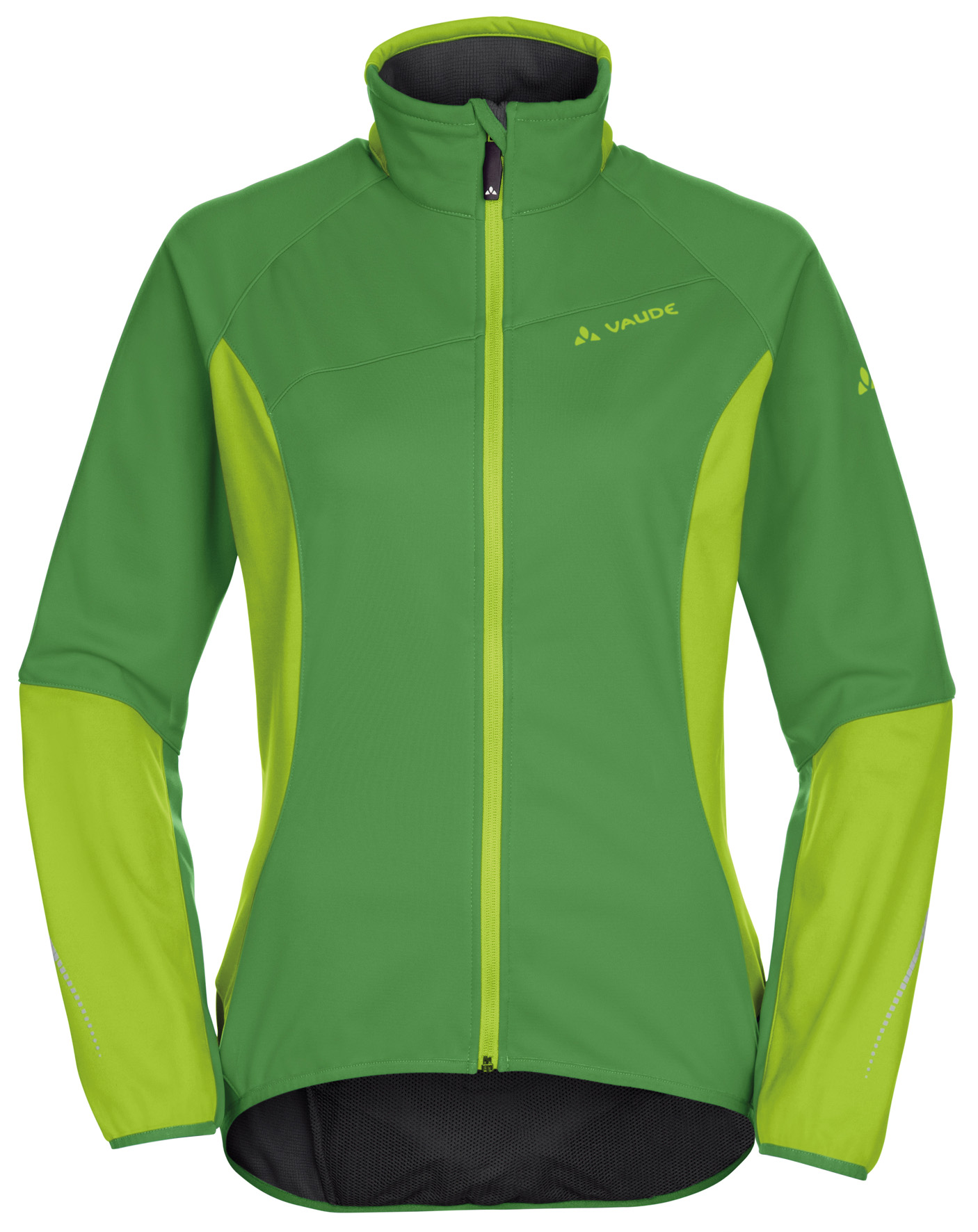 VAUDE Women´s Resca Softshell Jacket parrot green Größe 44 - schneider-sports