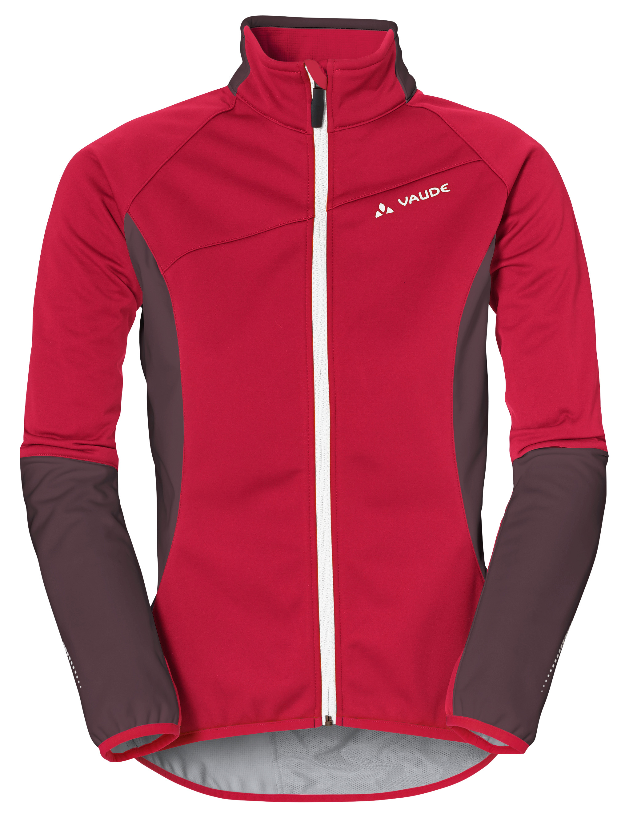 VAUDE Women´s Resca Softshell Jacket indian red Größe 46 - schneider-sports