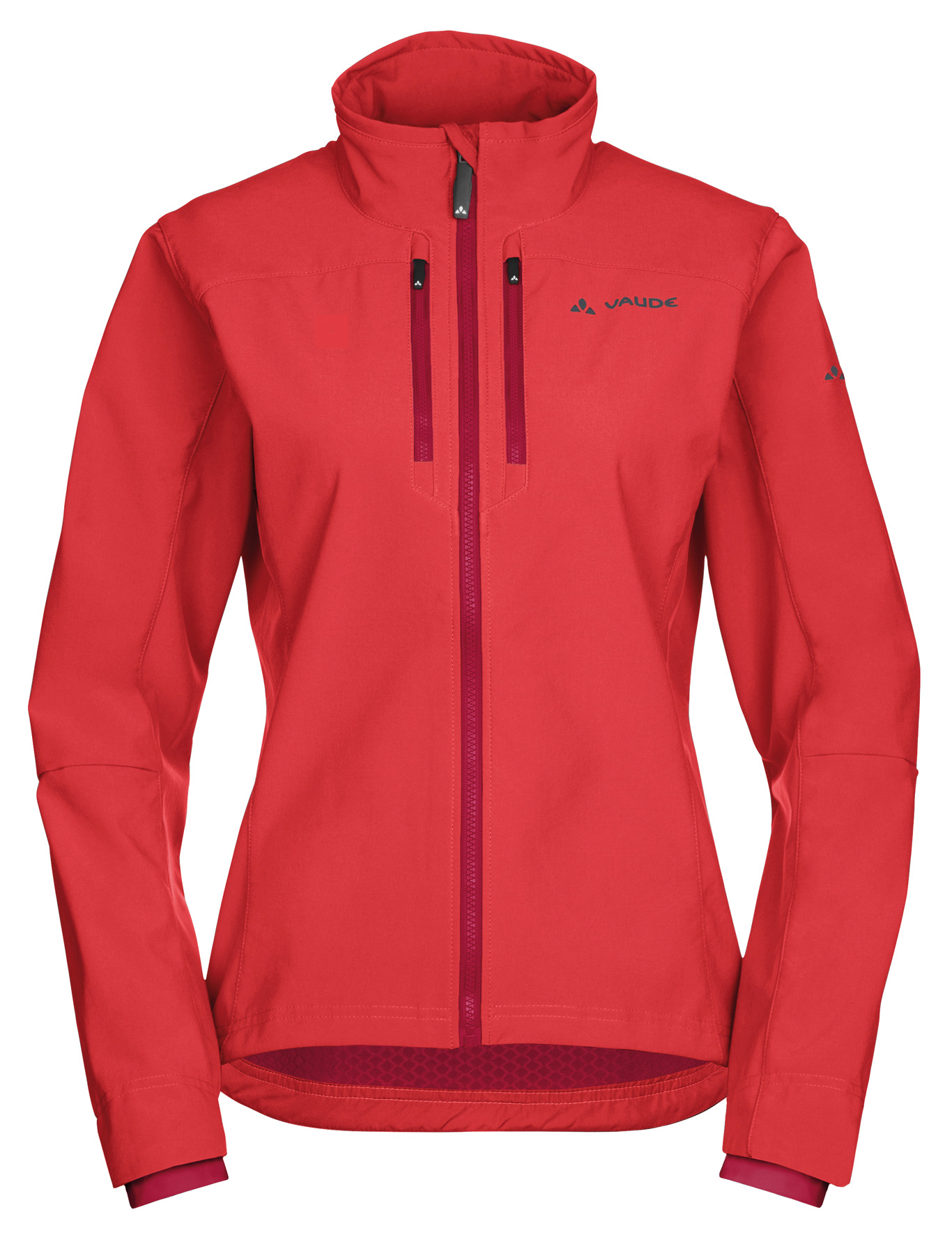 Women´s Qimsa Softshell Jacket flame Größe 36 - schneider-sports