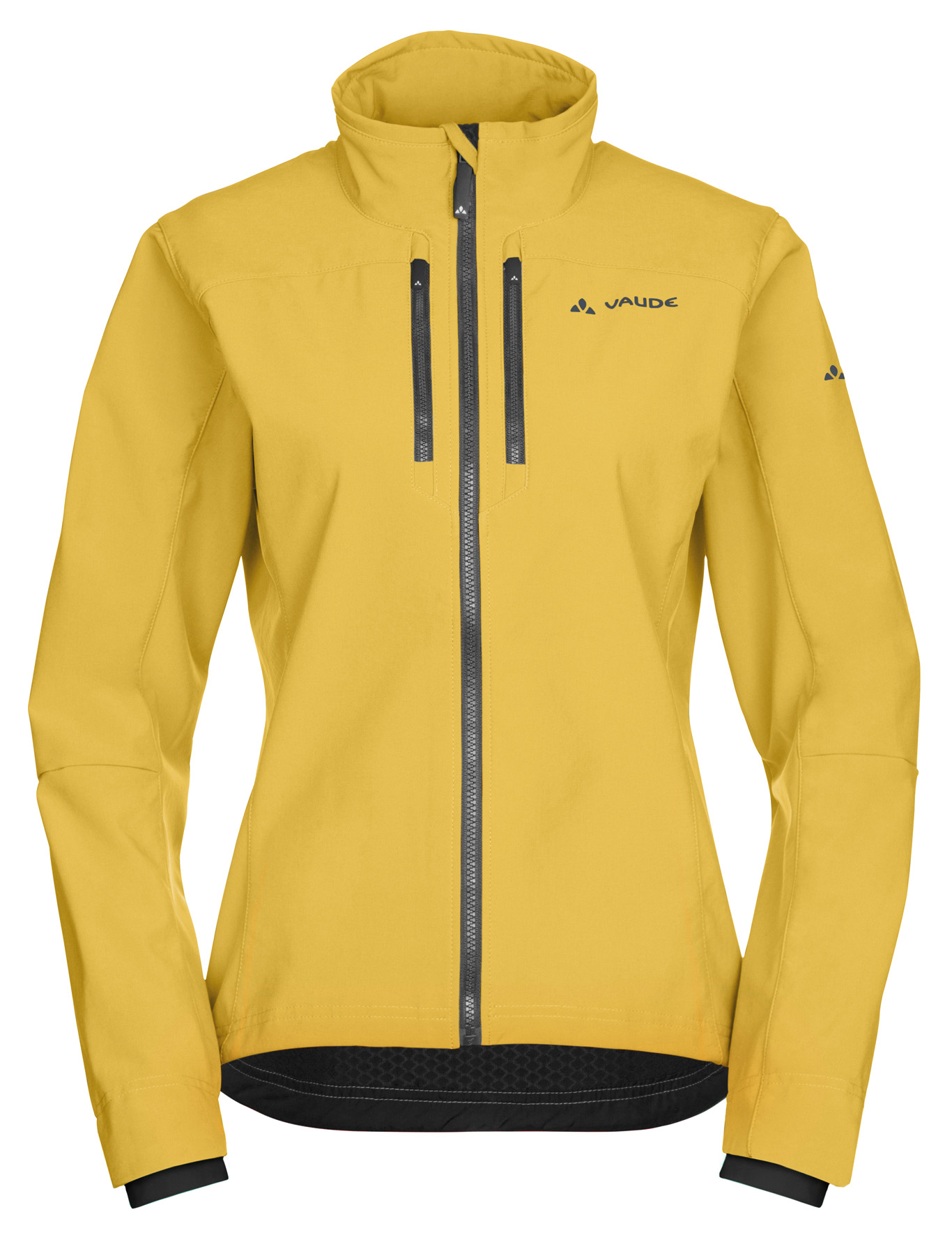 Women´s Qimsa Softshell Jacket golddust Größe 44 - schneider-sports
