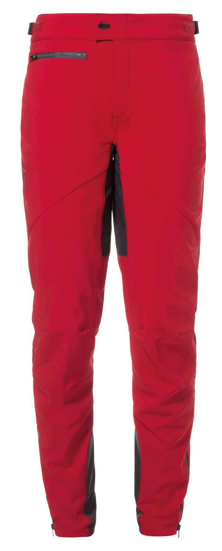 VAUDE Women´s Qimsa Softshell Pants indian red Größe 34 - schneider-sports
