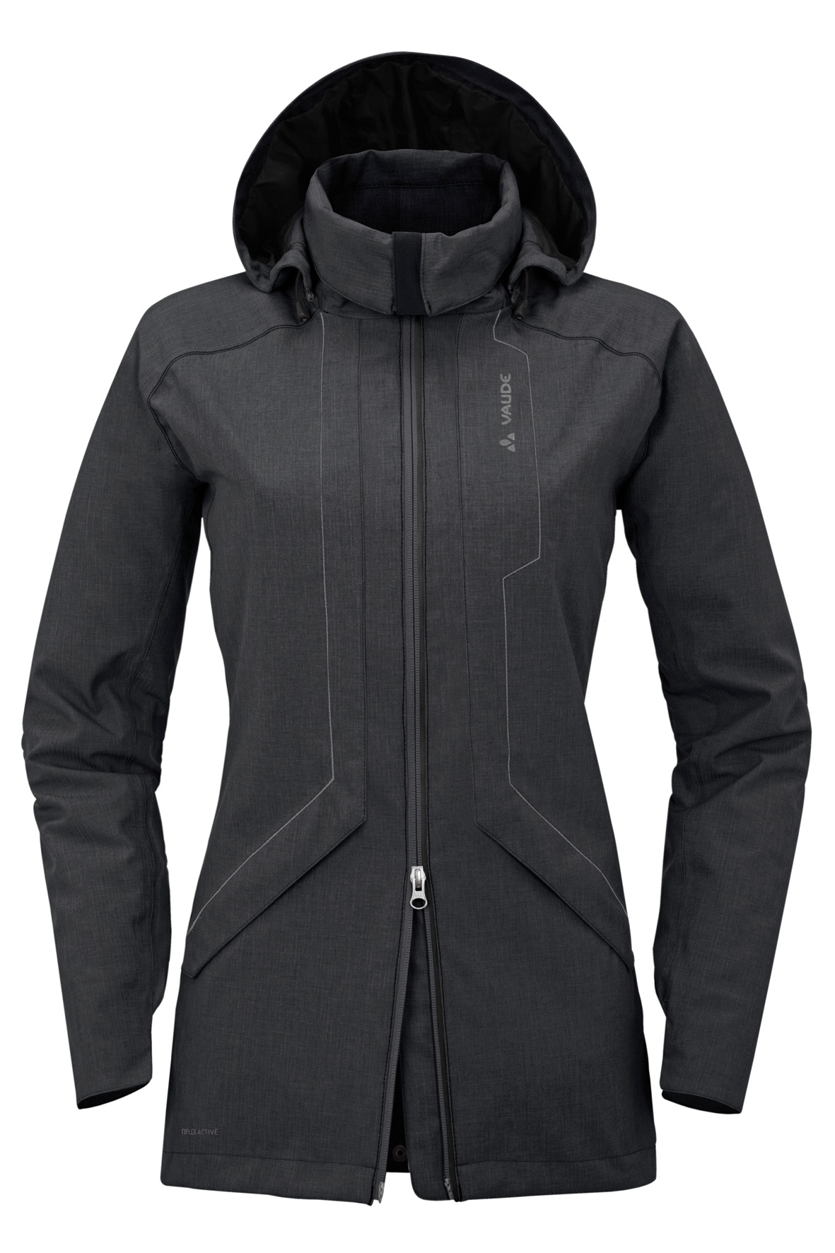 Women´s Homy Padded Jacket black Größe 42 - schneider-sports