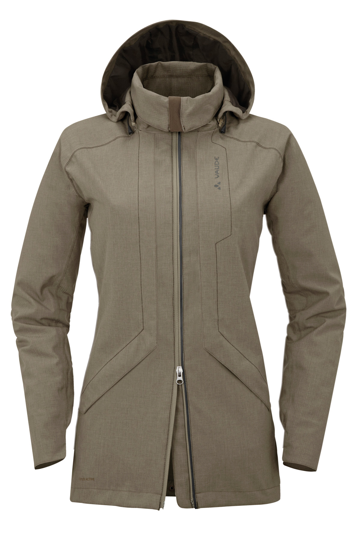 Women´s Homy Padded Jacket maple wood Größe 34 - schneider-sports