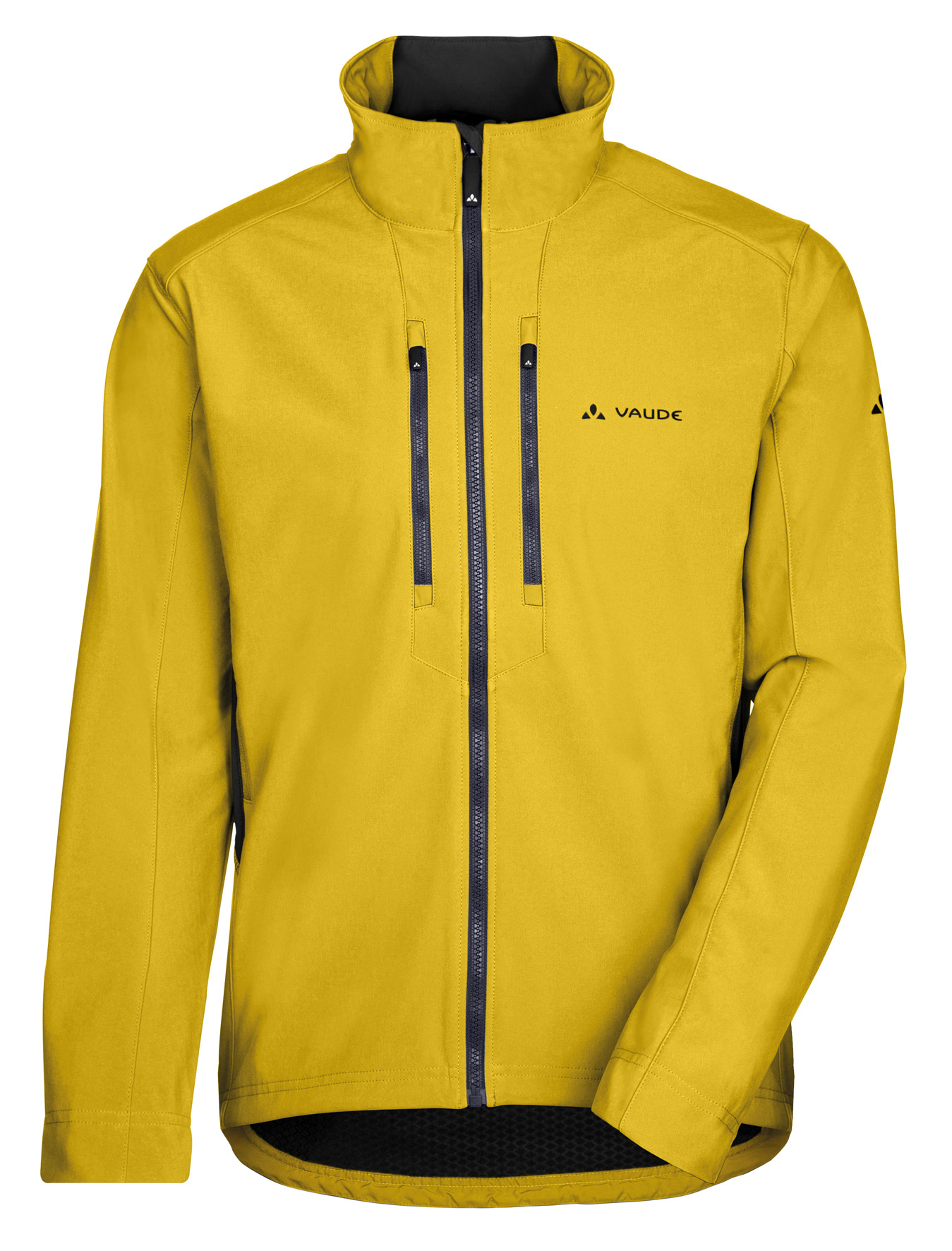 VAUDE Men´s Virt Softshell Jacket yellow Größe L - schneider-sports