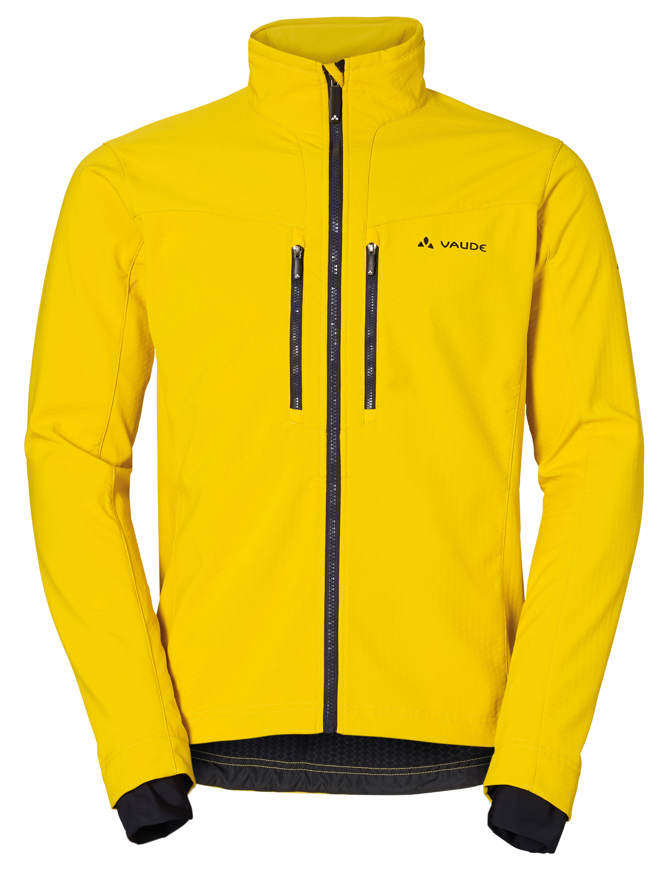 VAUDE Men´s Qimsa Softshell Jacket yellow Größe S - schneider-sports