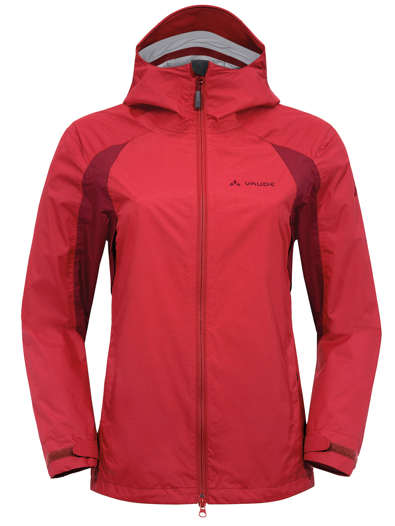 VAUDE Women´s Yaras Jacket red Größe 36 - schneider-sports