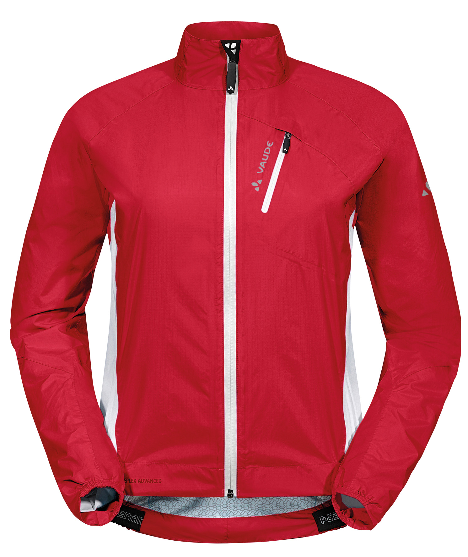 VAUDE Women´s Spray Jacket IV red Größe 44 - schneider-sports