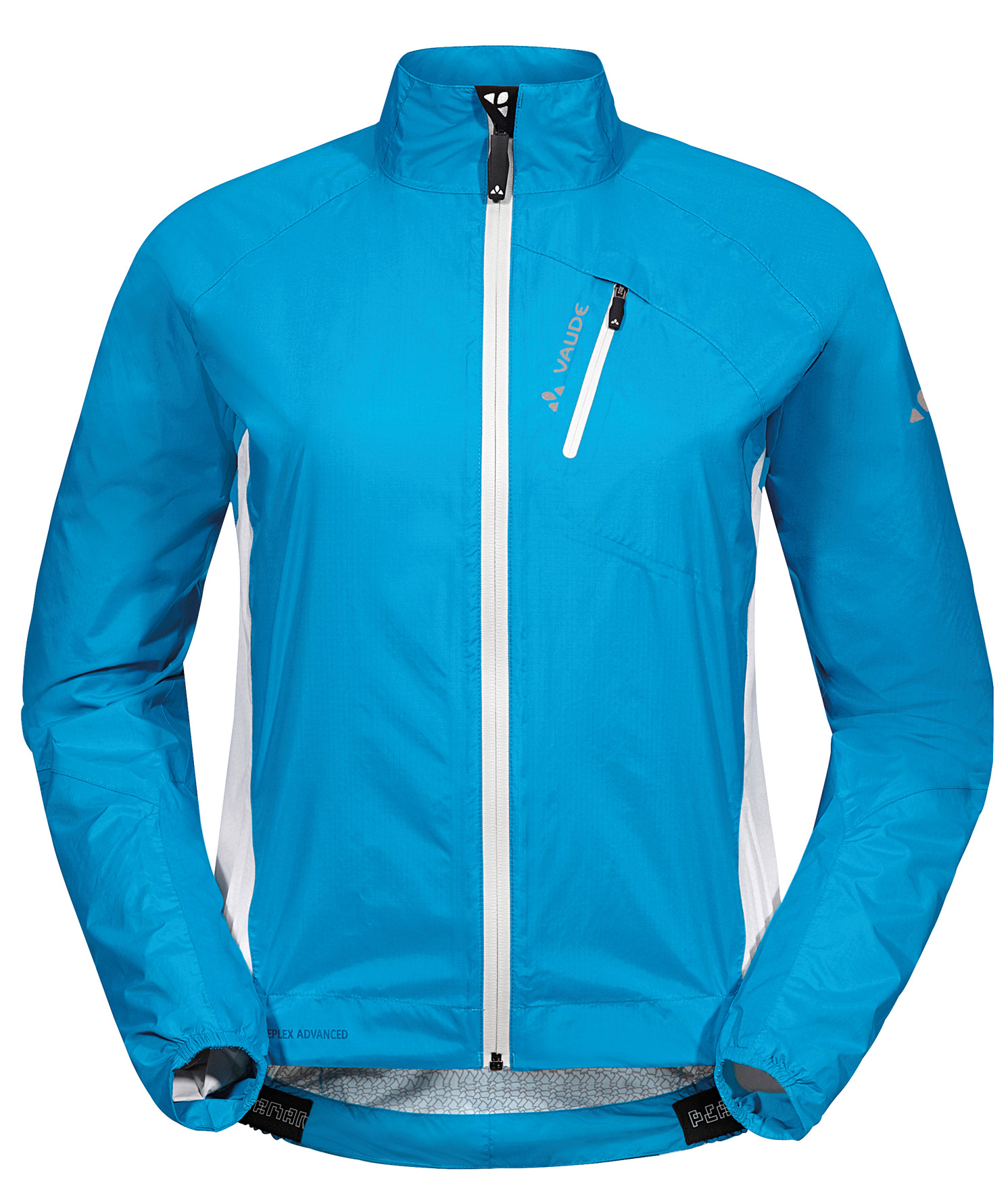 VAUDE Women´s Spray Jacket IV teal blue Größe 36 - schneider-sports