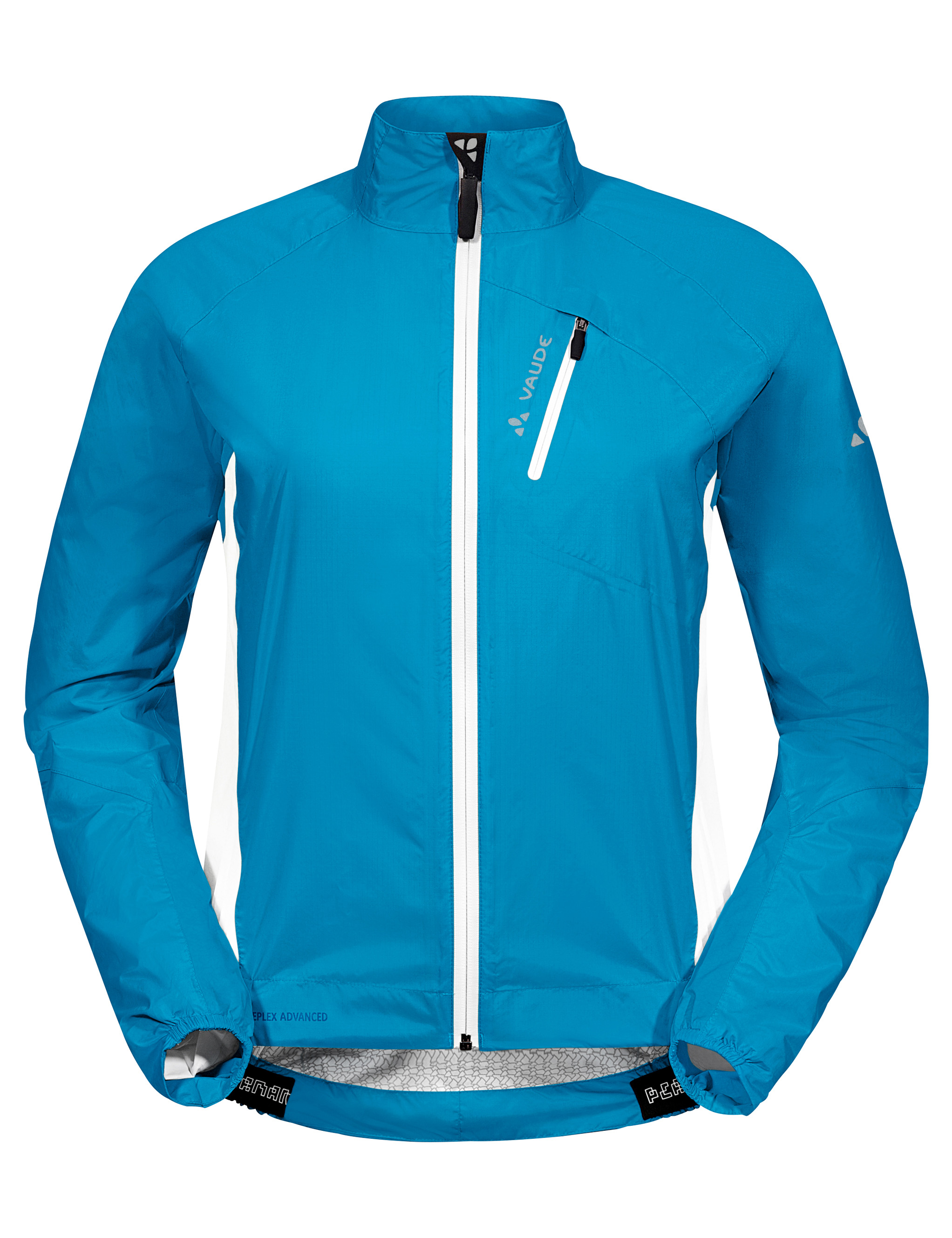 VAUDE Women´s Spray Jacket IV spring blue Größe 36 - schneider-sports
