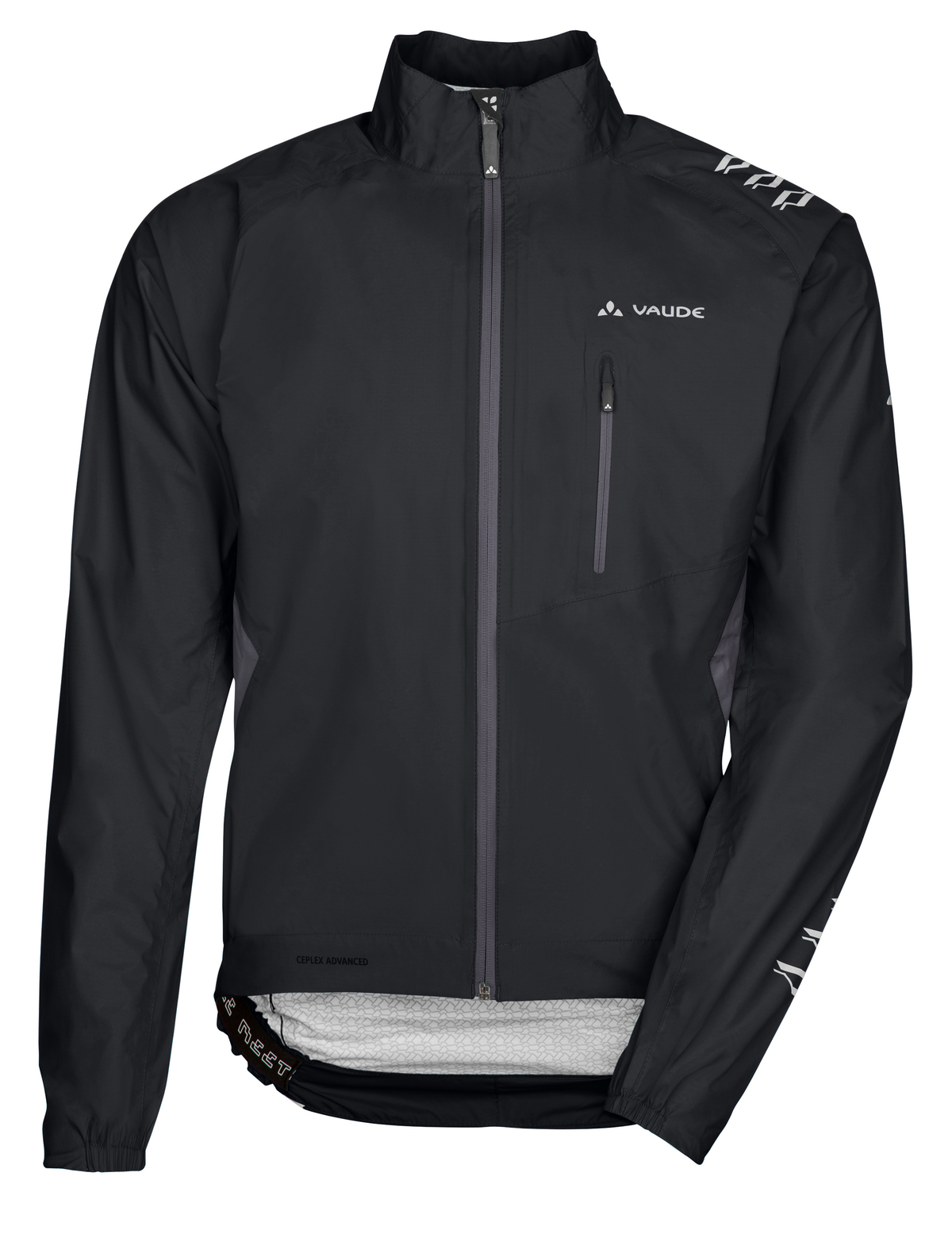 VAUDE Men´s Spray Jacket IV black Größe L - schneider-sports