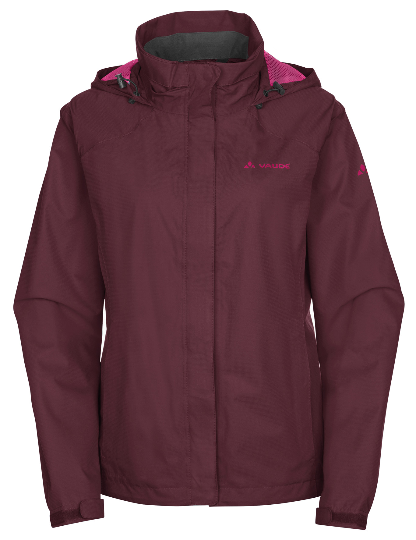 VAUDE Women´s Escape Bike Light Jacket claret red Größe 36 - schneider-sports