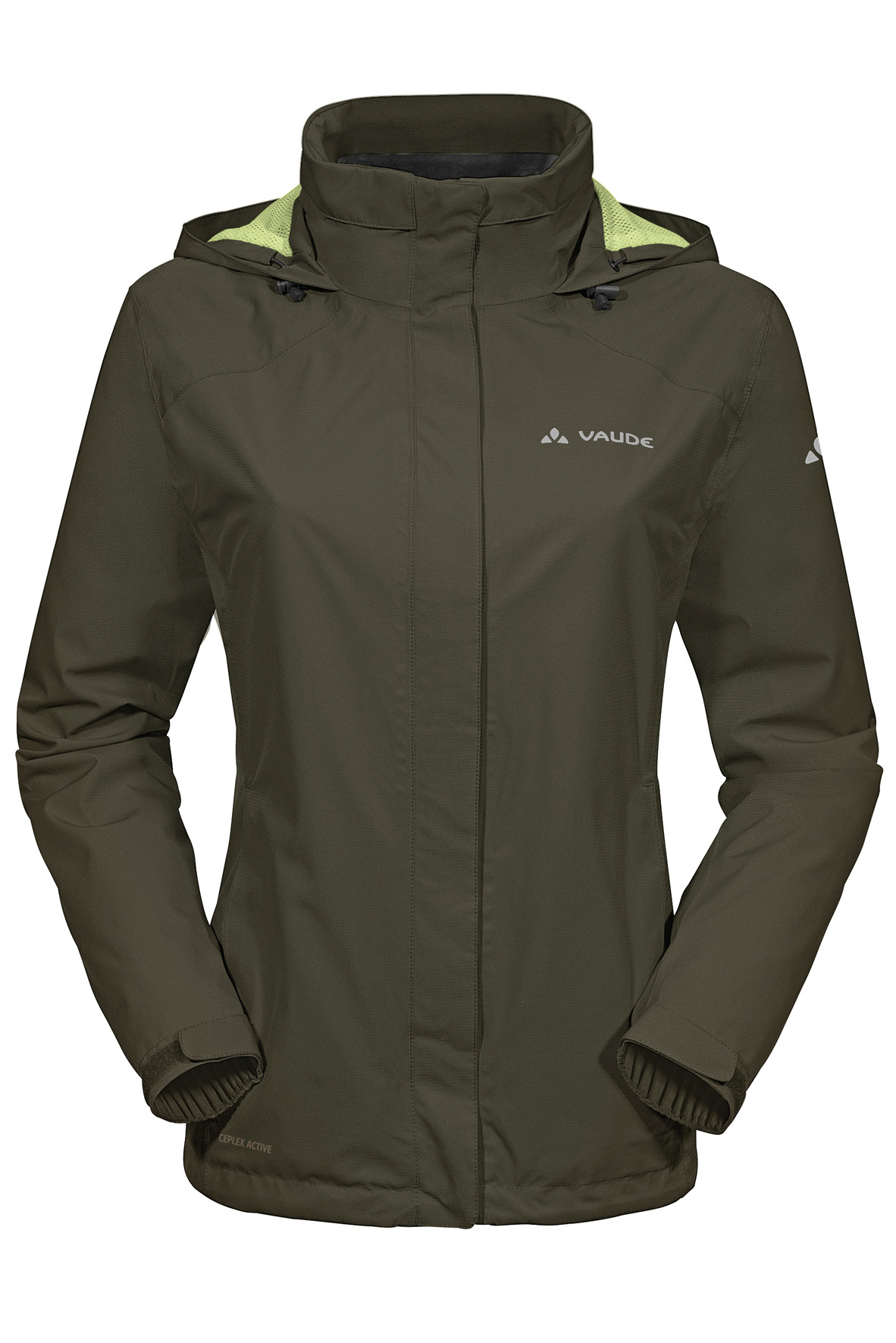 Women´s Escape Bike Light Jacket fir green Größe 36 - schneider-sports