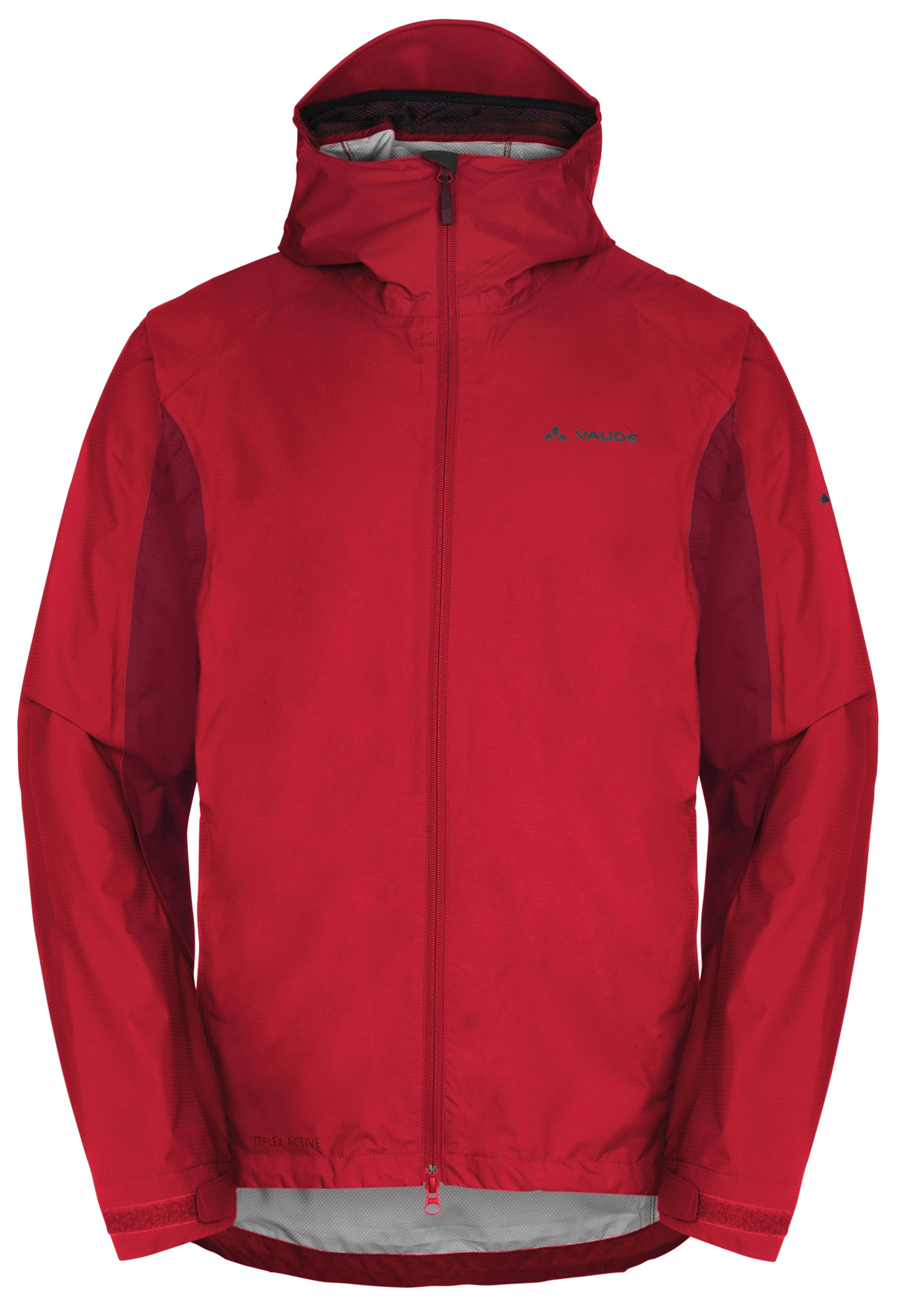 VAUDE Men´s Yaras Jacket red Größe S - schneider-sports