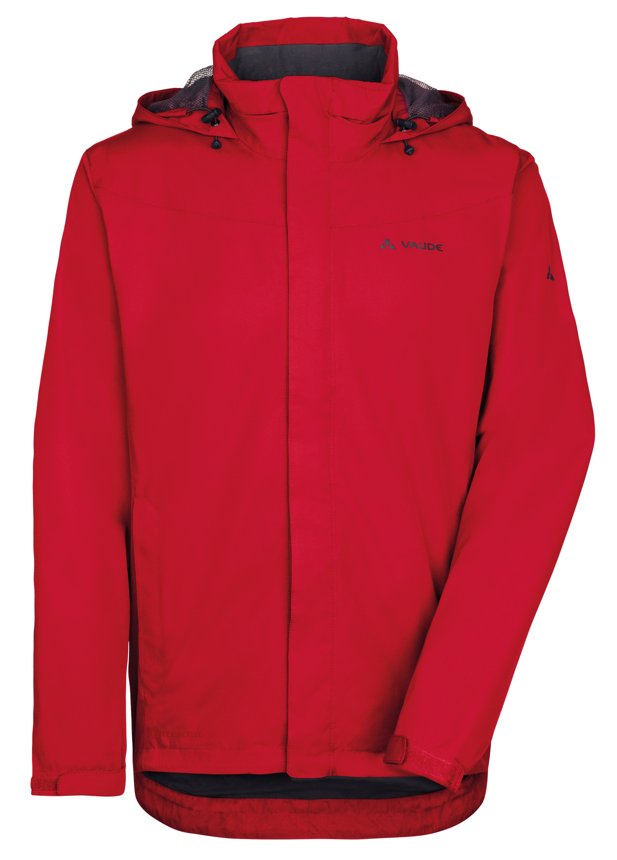 VAUDE Men´s Escape Bike Light Jacket red Größe L - schneider-sports
