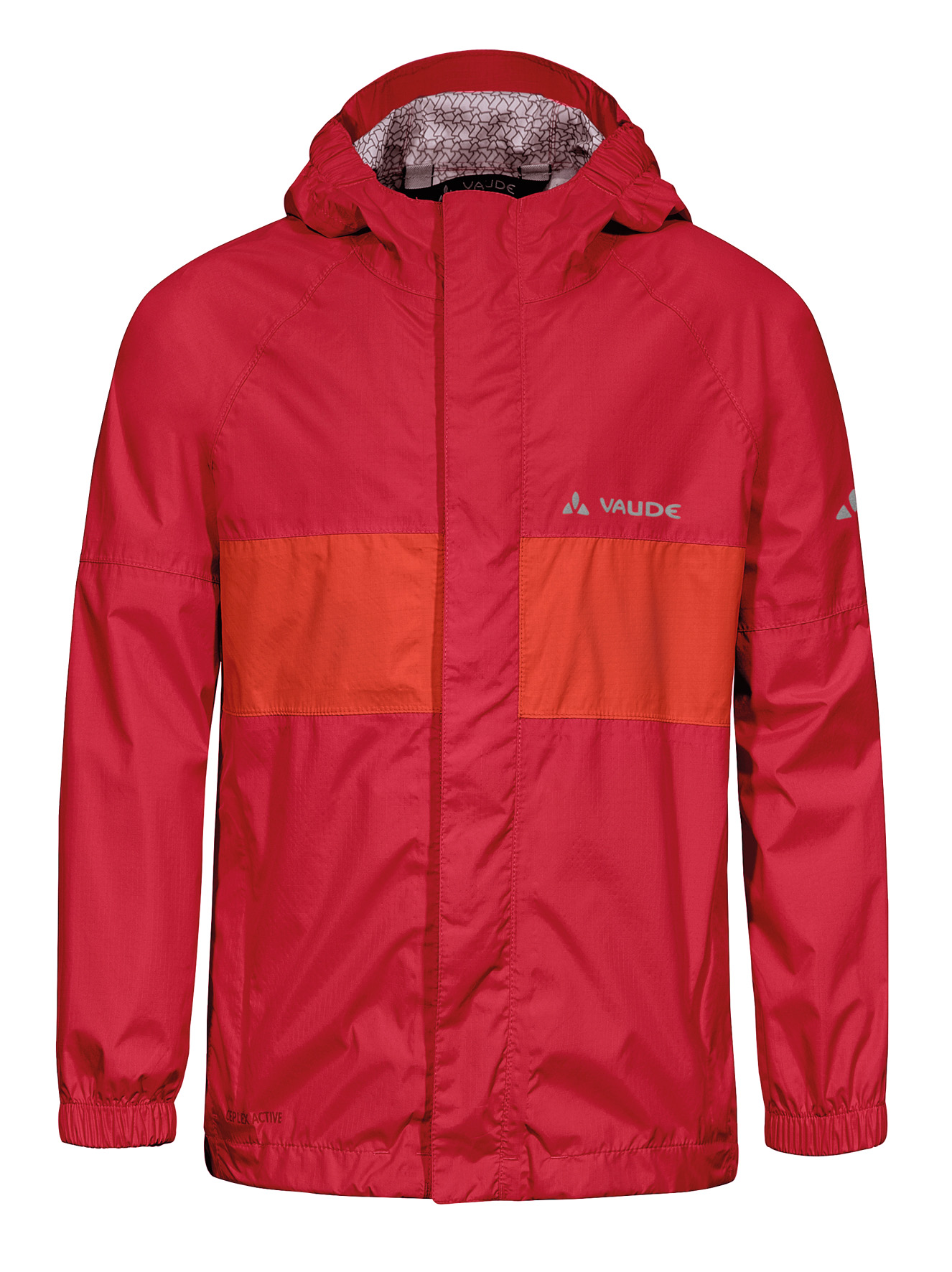 VAUDE Kids Grody Jacket II red Größe 110/116 - schneider-sports