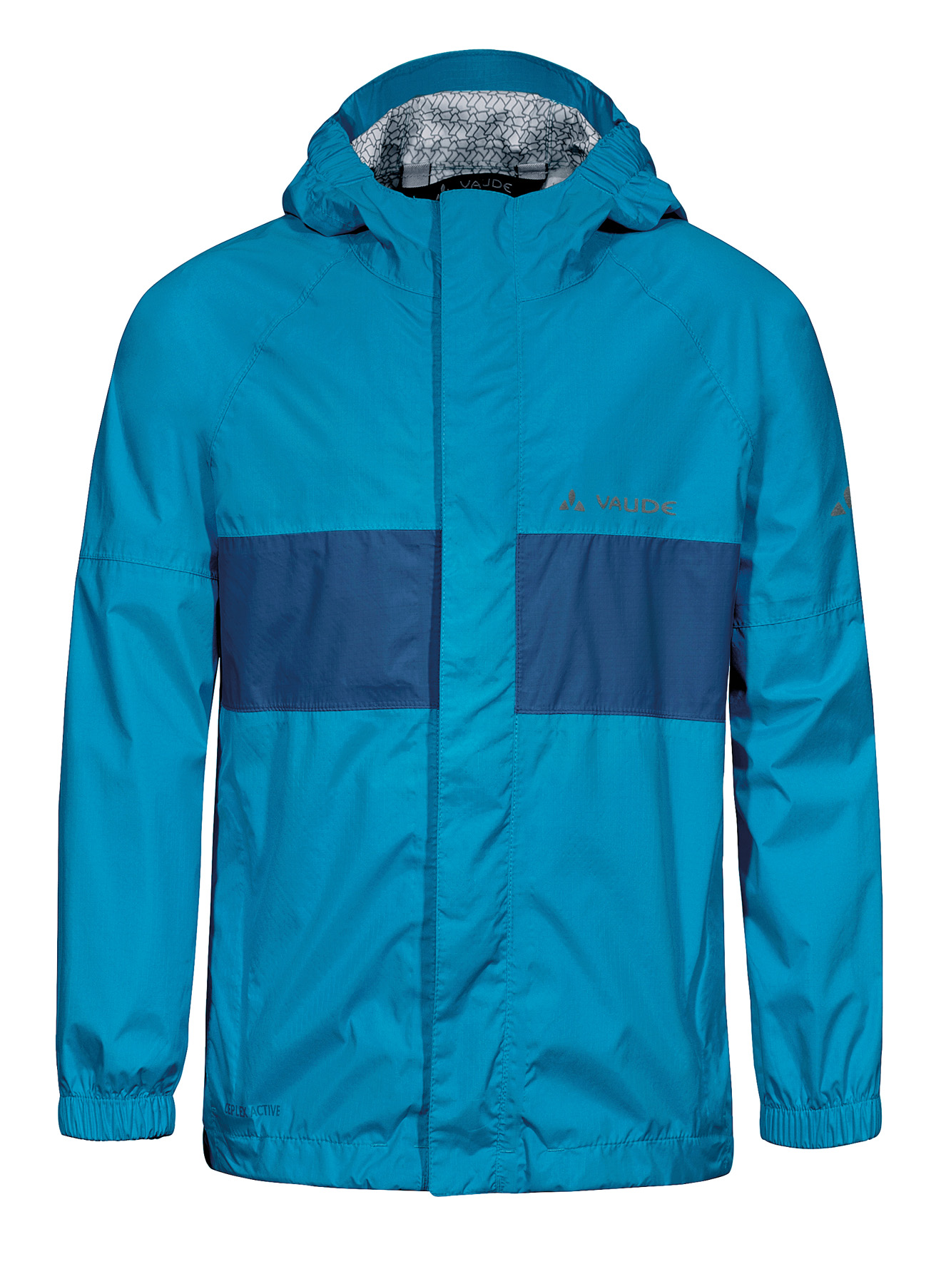 Kids Grody Jacket II teal blue Größe 110/116 - schneider-sports