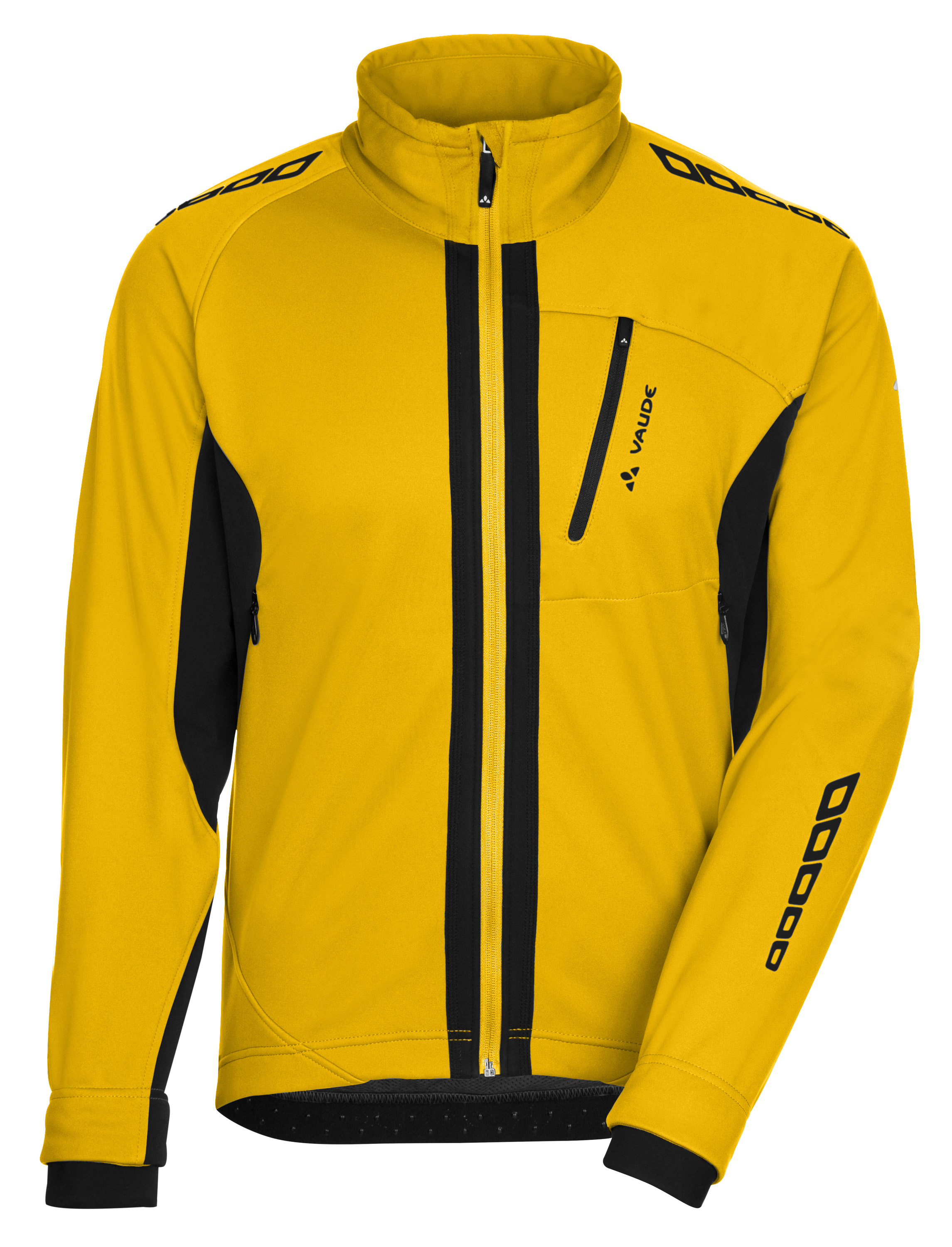 VAUDE Men´s Kuro Softshell Jacket II yellow Größe S - schneider-sports