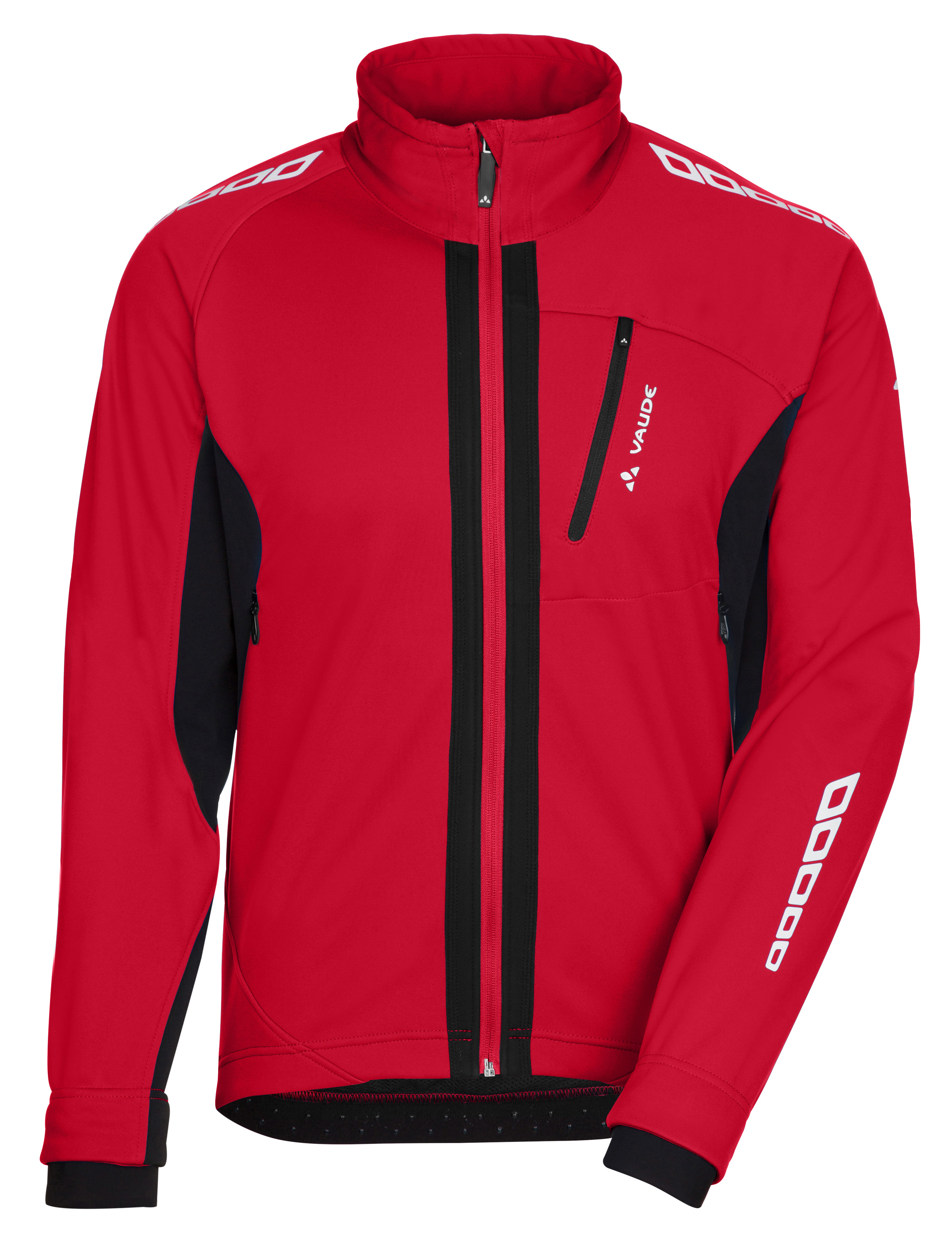 VAUDE Men´s Kuro Softshell Jacket II red Größe S - schneider-sports