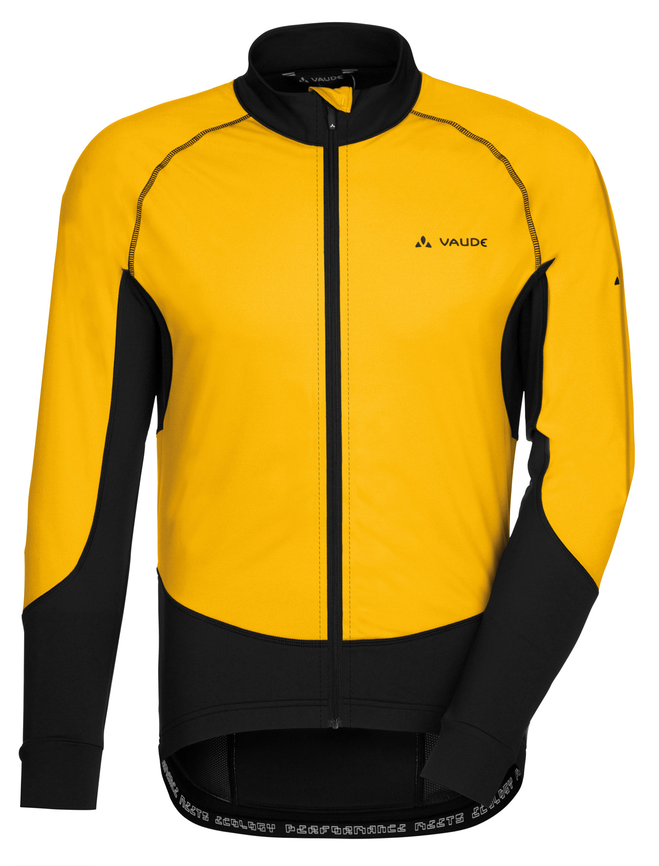 VAUDE Men´s Pro Warm Tricot yellow Größe S - schneider-sports