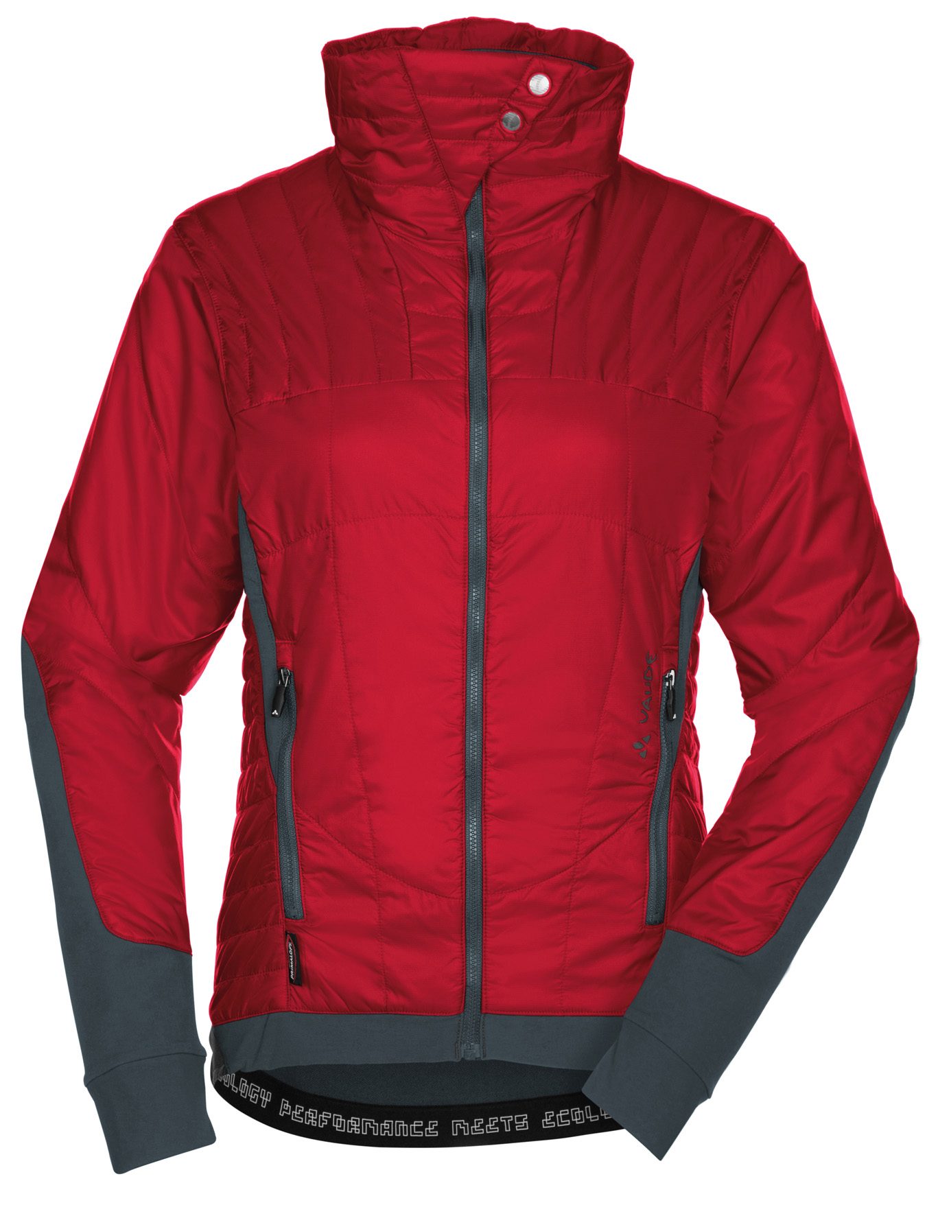 VAUDE Women´s Minaki Jacket indian red Größe 34 - schneider-sports