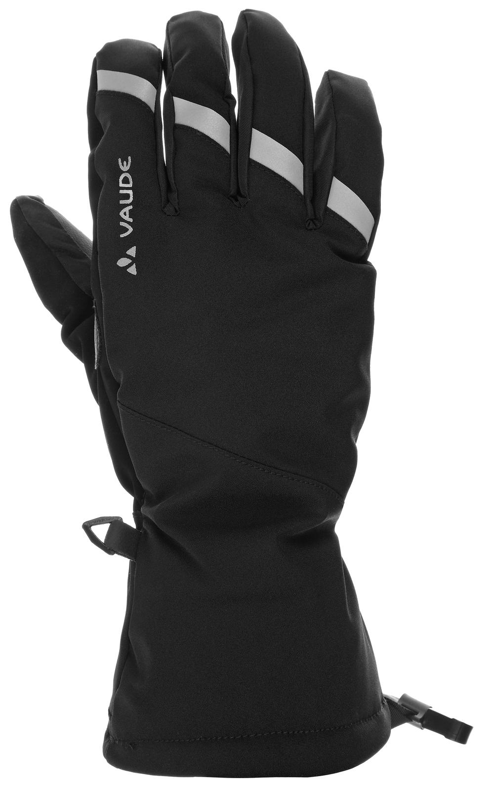 VAUDE Tura Gloves II black Größe 8 - VAUDE Tura Gloves II black Größe 8