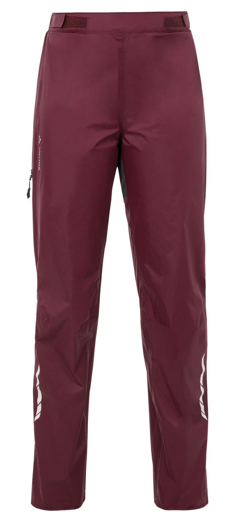 VAUDE Women´s Tremalzo Rain Pants claret red Größe 34 - schneider-sports