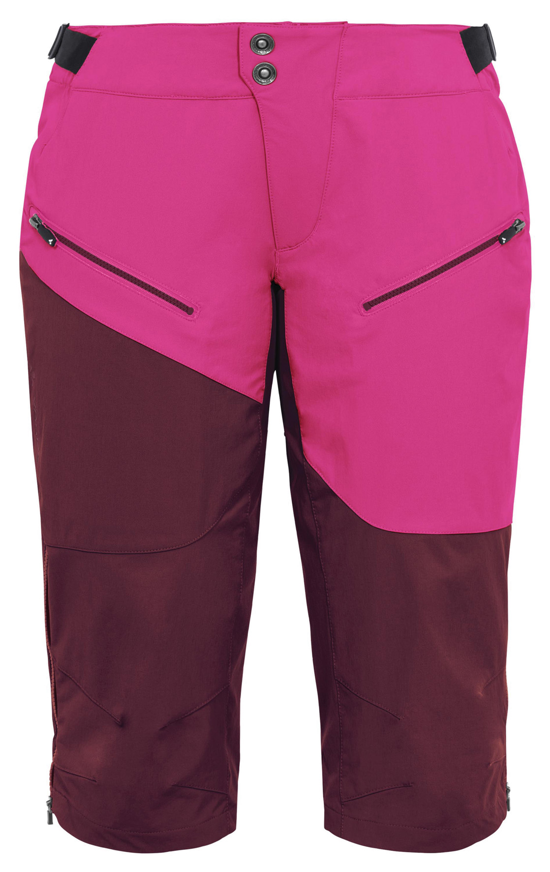 Women´s Moab Shorts claret red Größe 36 - schneider-sports