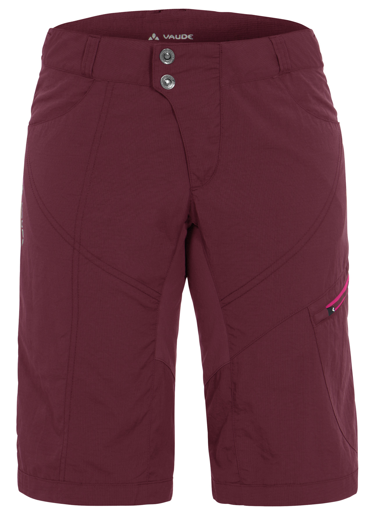 Women´s Tamaro Shorts claret red Größe 36 - schneider-sports