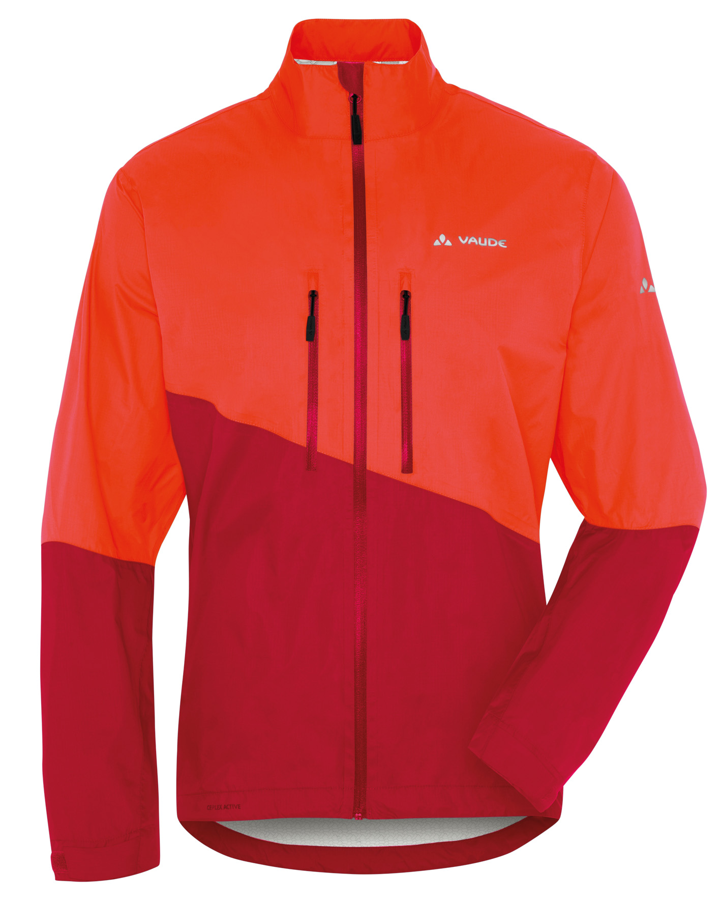 VAUDE Men´s Tremalzo Rain Jacket glowing red Größe S - schneider-sports