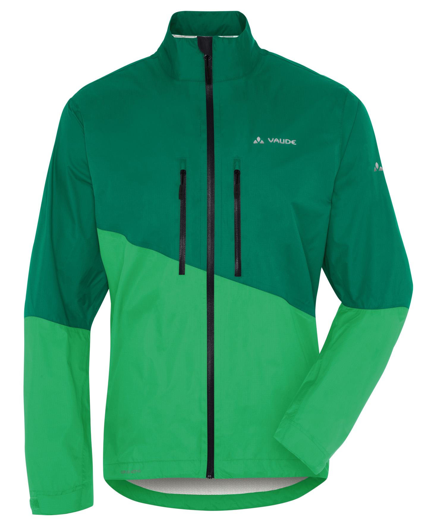 VAUDE Men´s Tremalzo Rain Jacket yucca green Größe L - schneider-sports