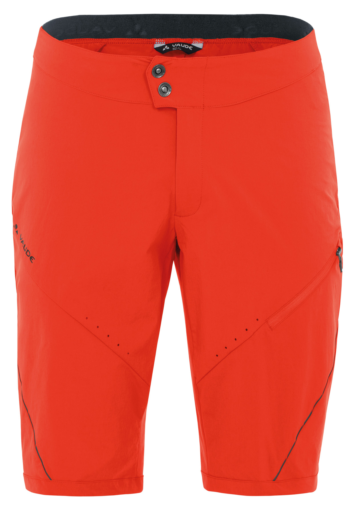 Men´s Topa Shorts glowing red Größe XS - schneider-sports
