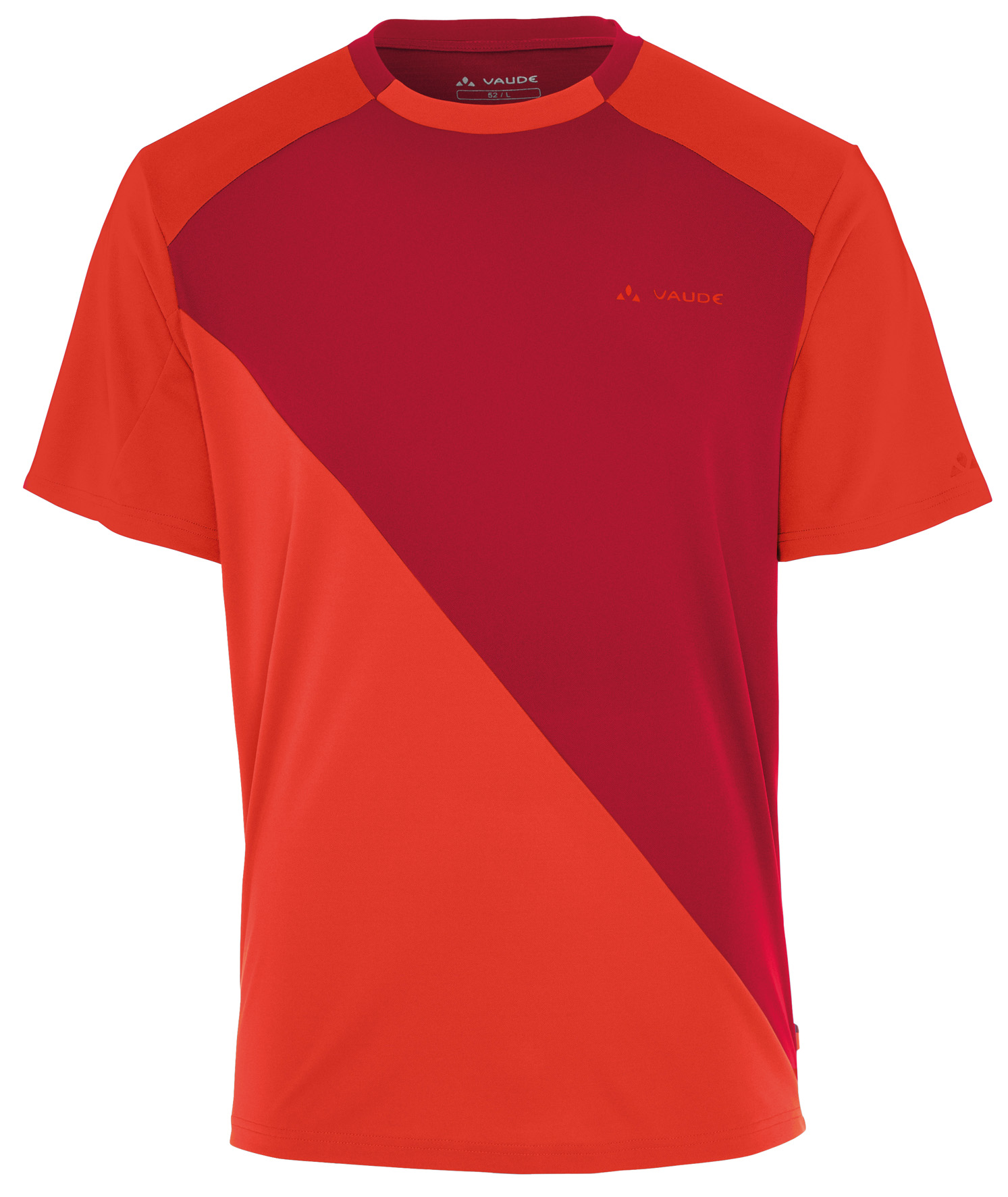 Men´s Moab Shirt indian red Größe S - schneider-sports