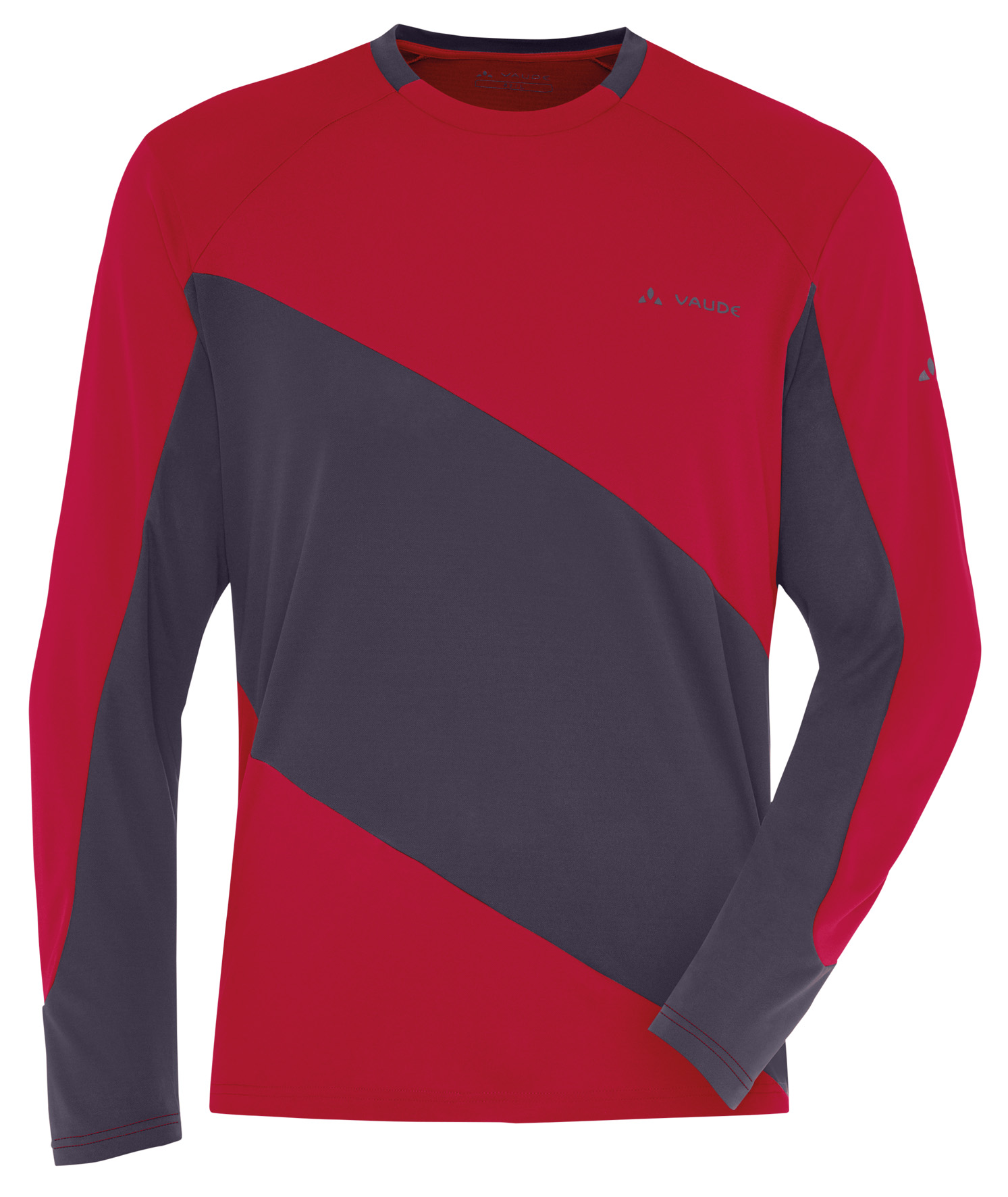 Men´s Moab LS Shirt indian red Größe S - schneider-sports