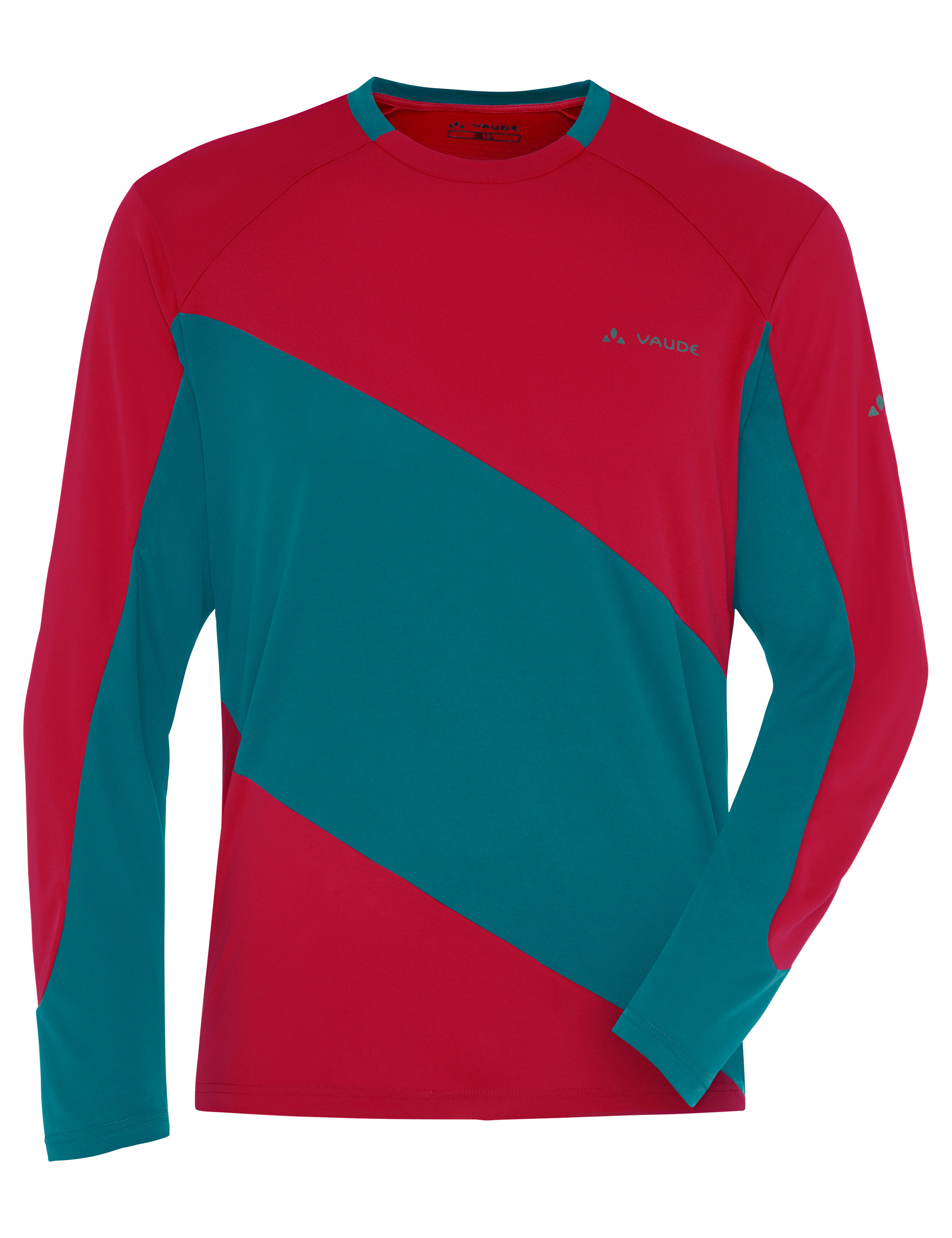 VAUDE Men´s Moab LS Shirt indian red/spinel Größe L - schneider-sports